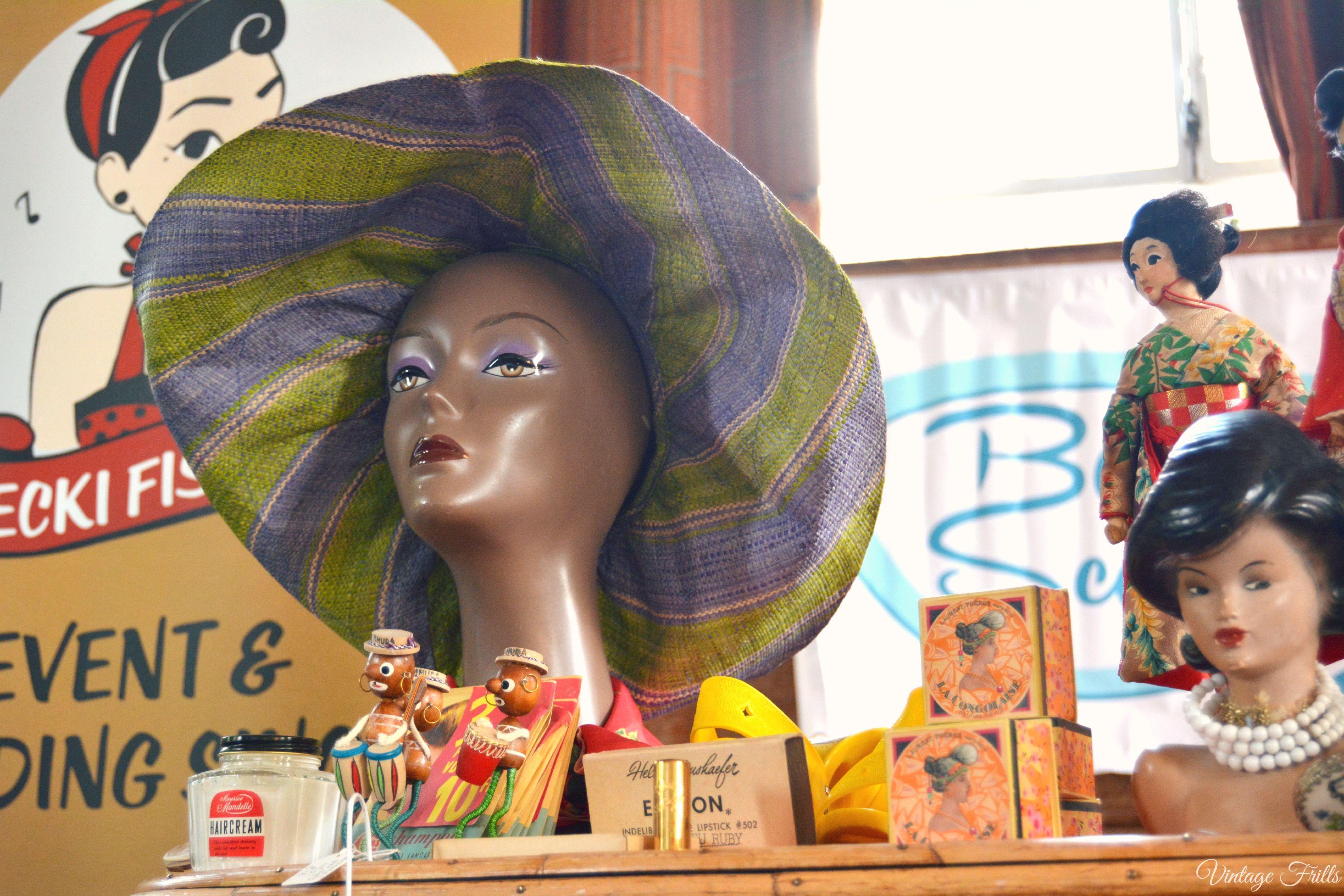 Vintage Hat Mid Century Market