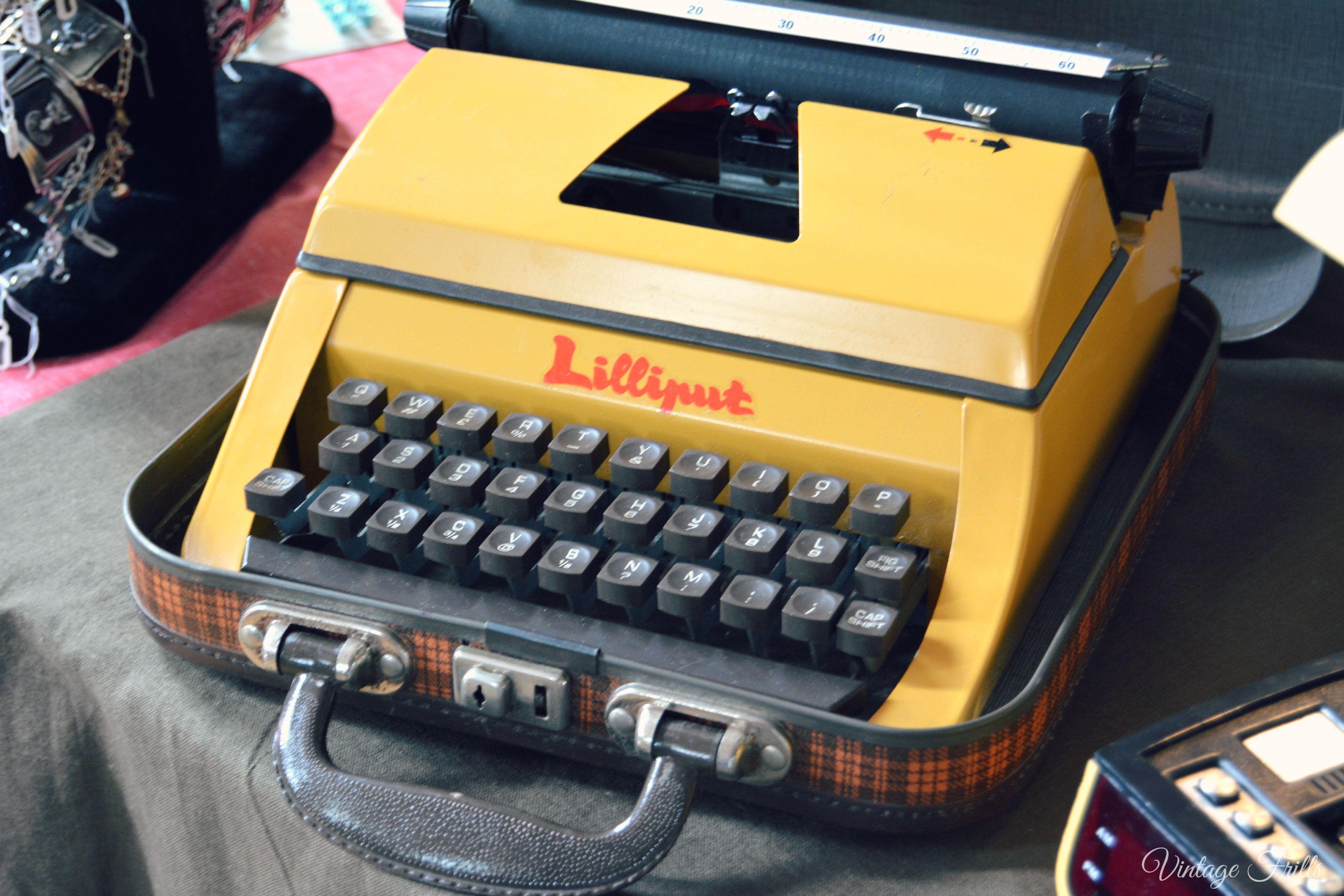 Vintage Typewriter Mid Century Market