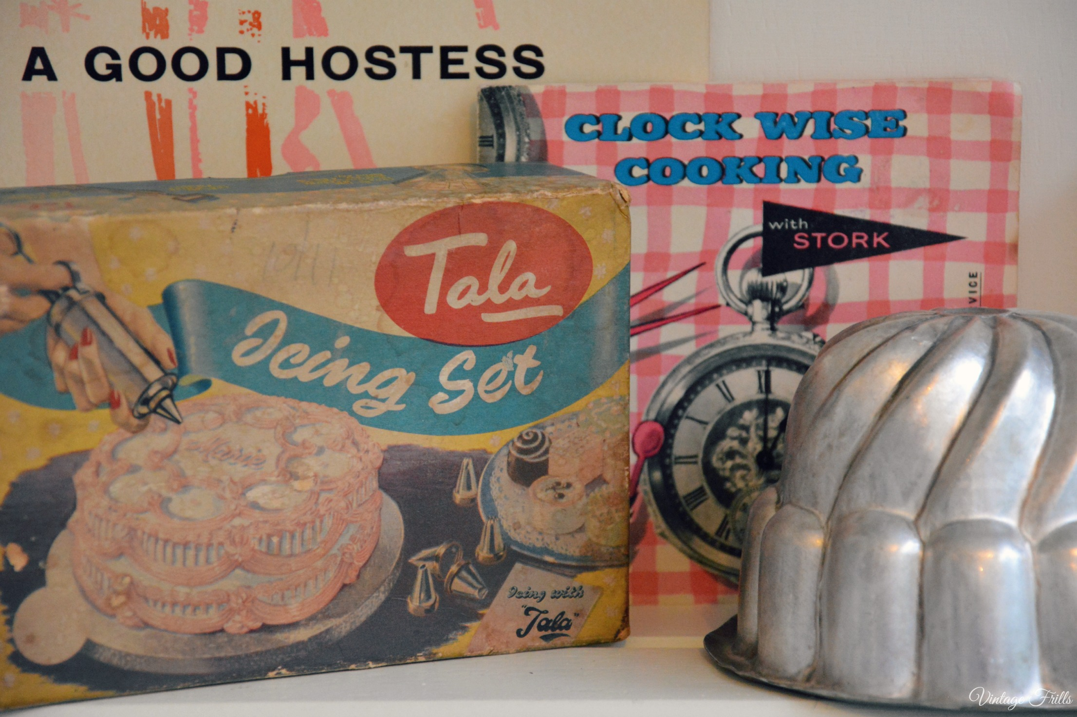 Tala Icing Set Vintage Kitchenalia