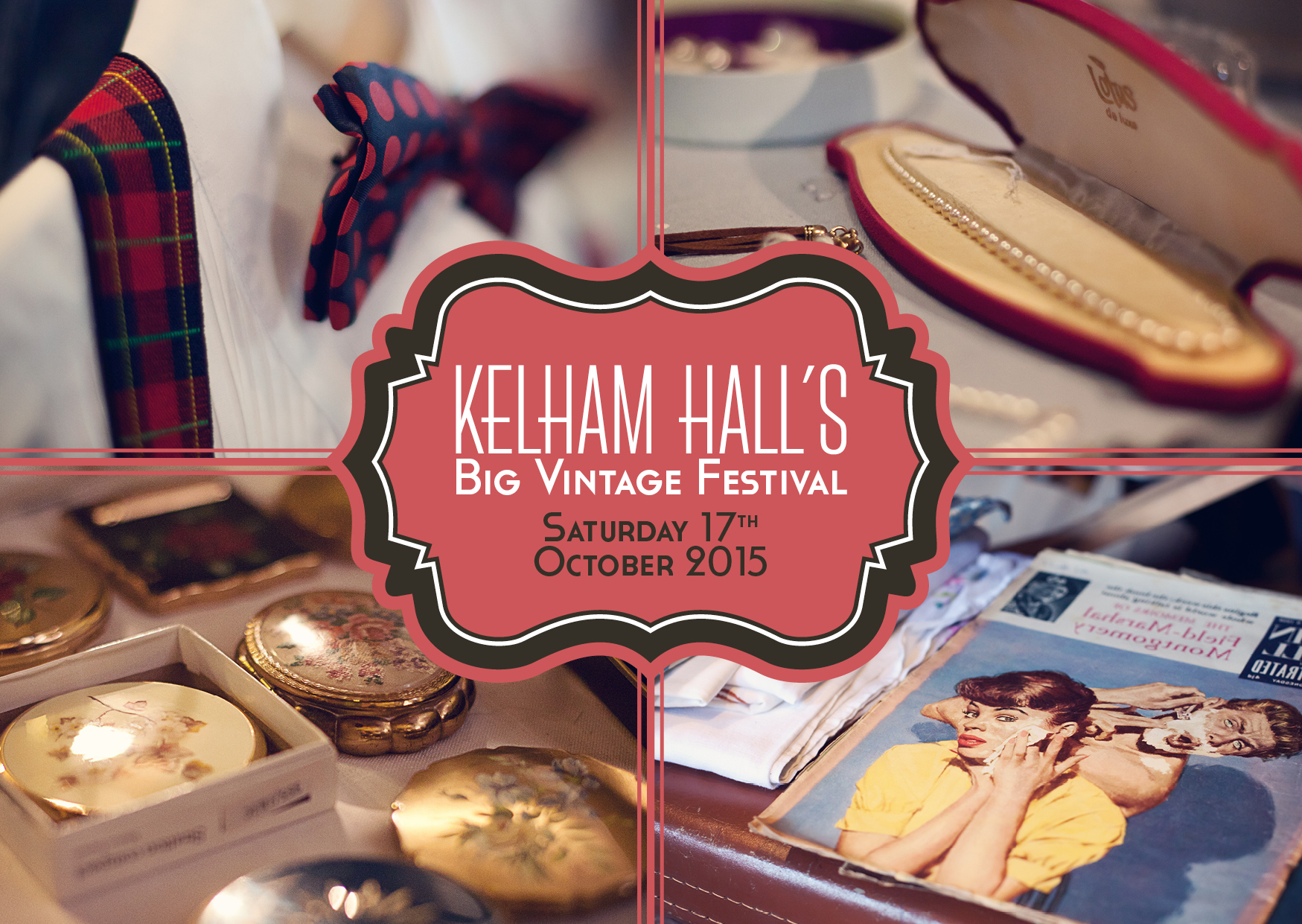 Win Tickets to Kelham Hall's Big Vintage Festival