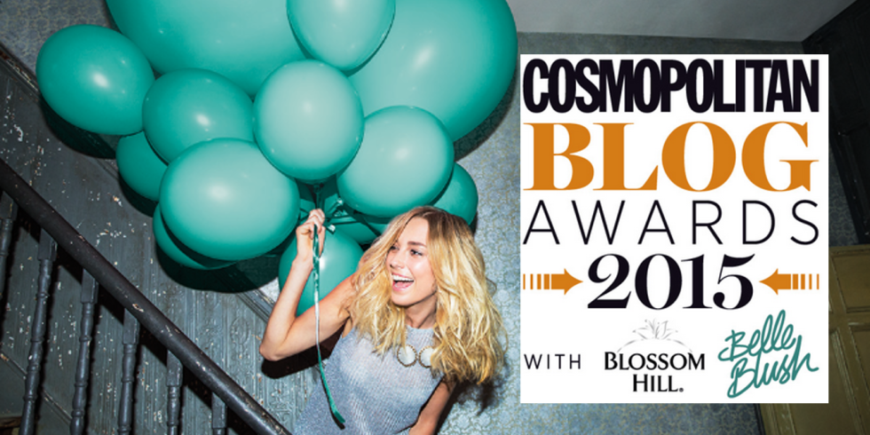 I've Been Shortlisted for the Cosmo Blog Awards!