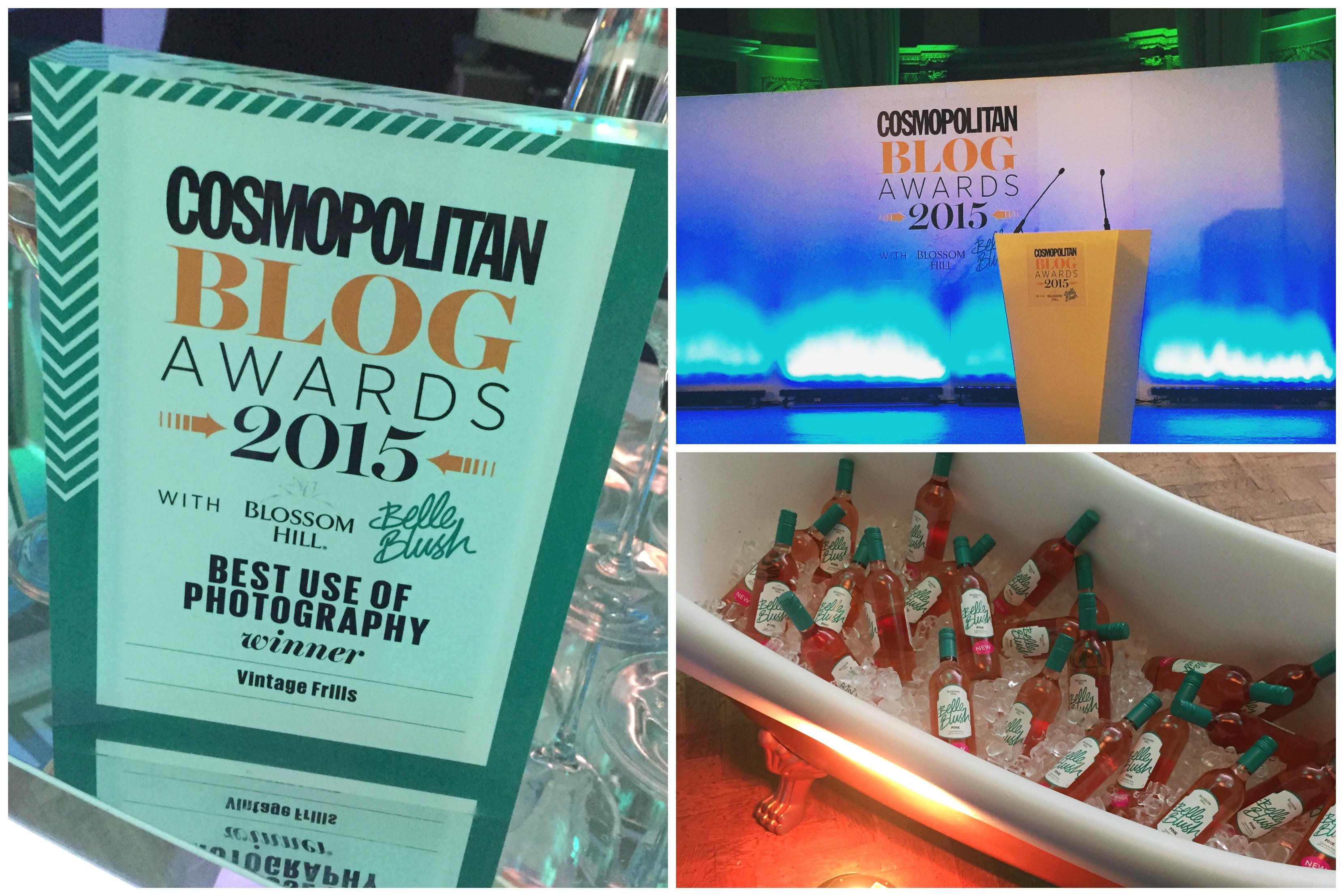 Cosmo Blog Awards Winner
