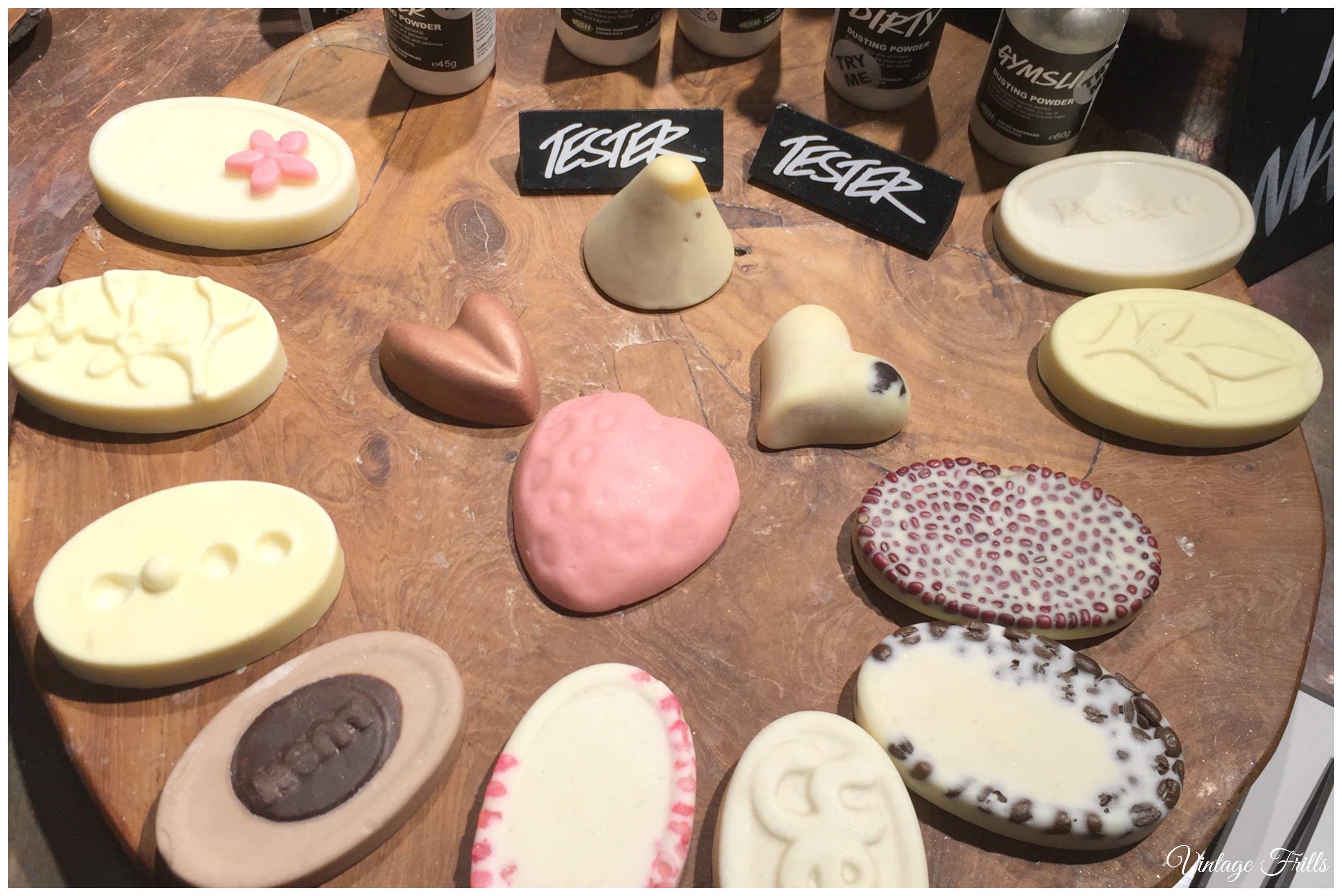 Lush Massage Bars