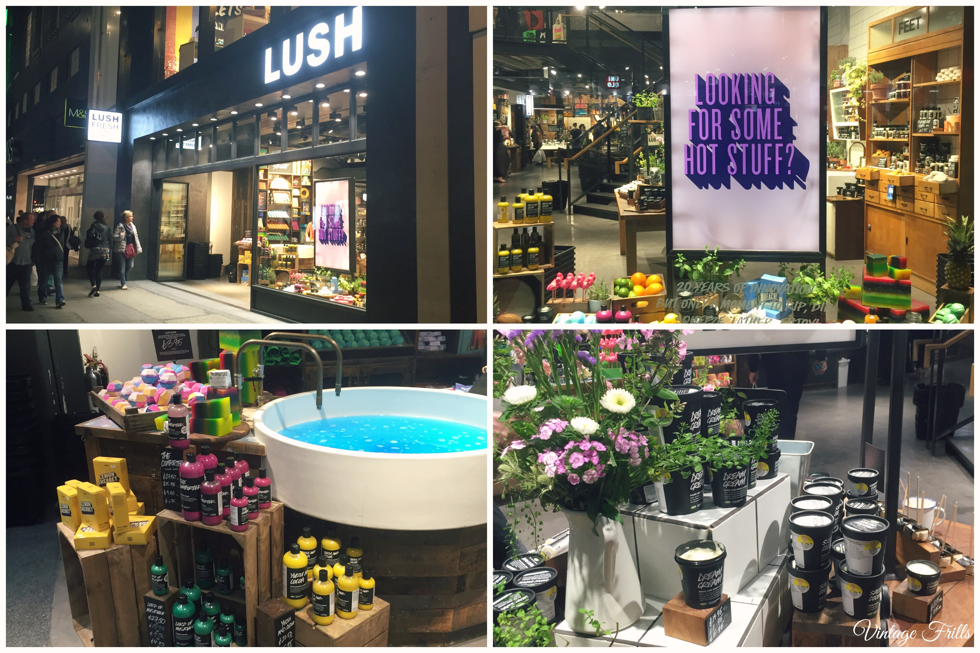 Lush Oxford Street Review