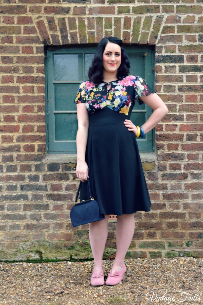 The Essential 1940s Style Blouse Vintage Frills: House Of Foxy Grable Dress Review • Vintage Frills