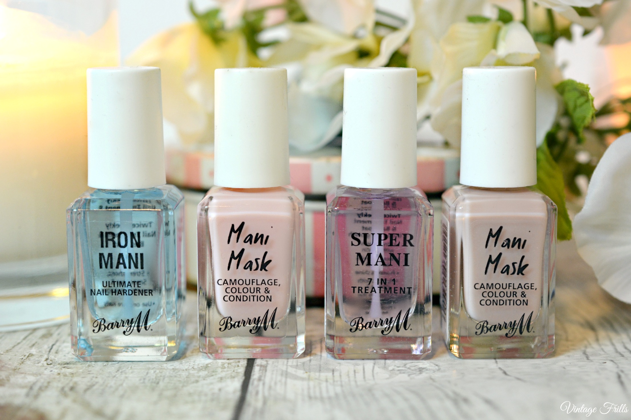Barry M Nail Care Range Review