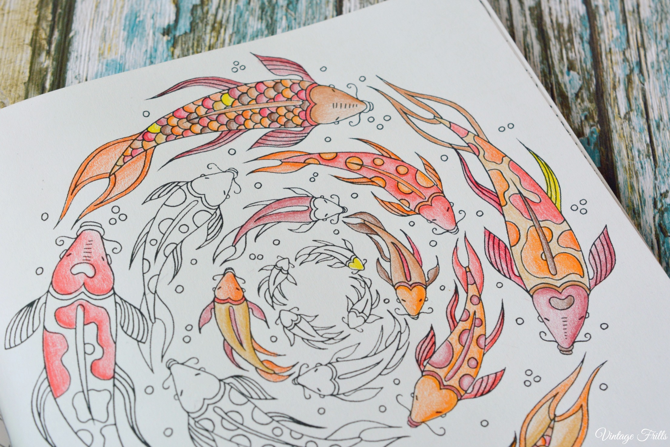 Colour Me Mindful Underwater Fish