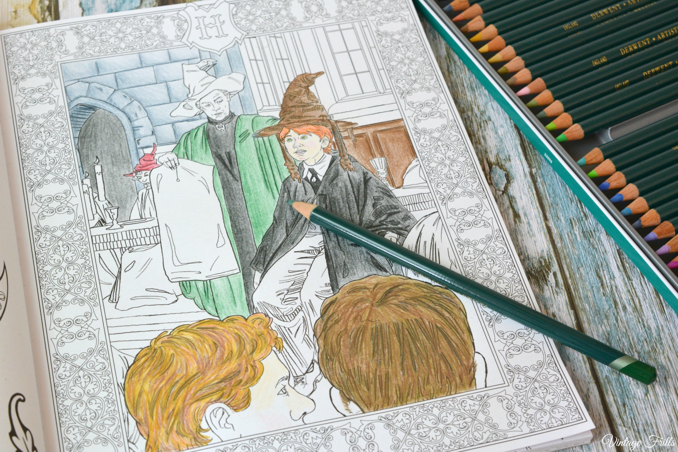 Harry Potter Coloring Book Pages Colored - Bltidm