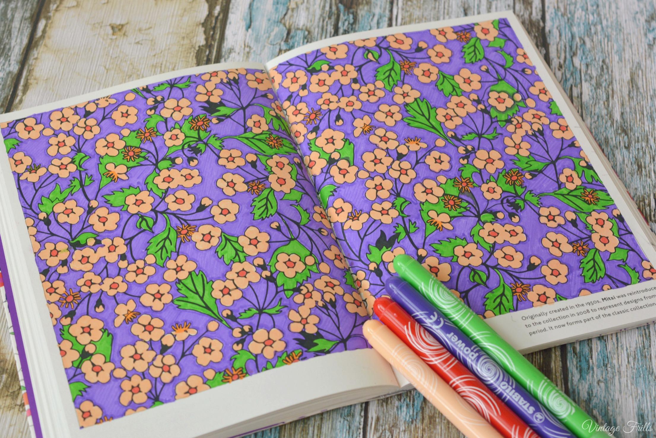 Libert colouring Book Mitsi Print