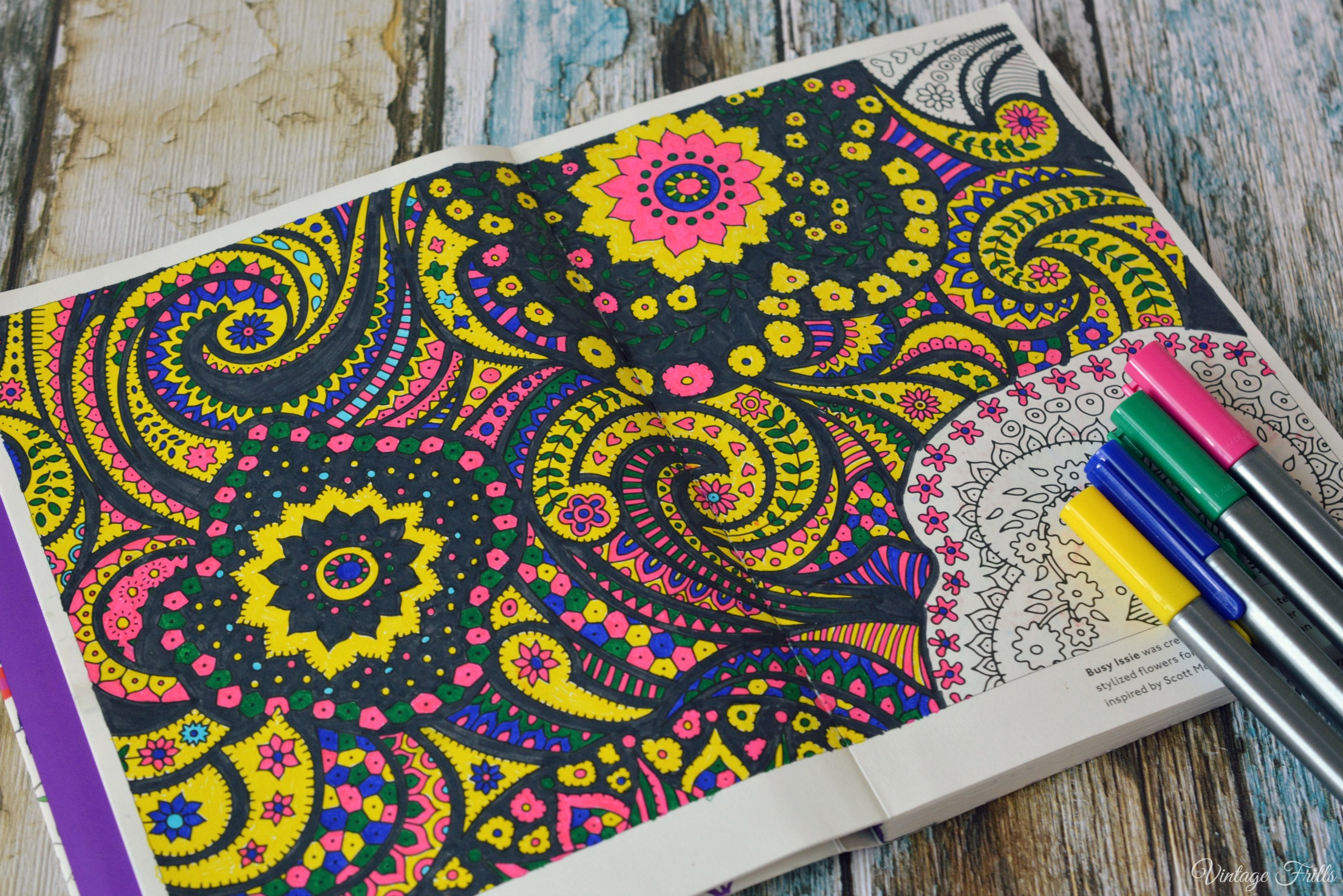 Liberty Colouring Book Busy Issie