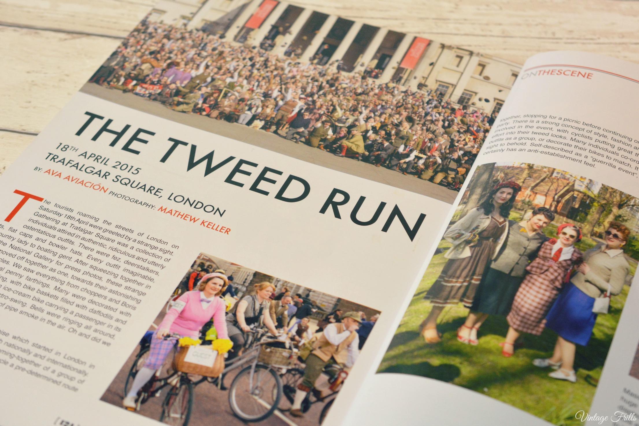 In retrospect the Tweed Run