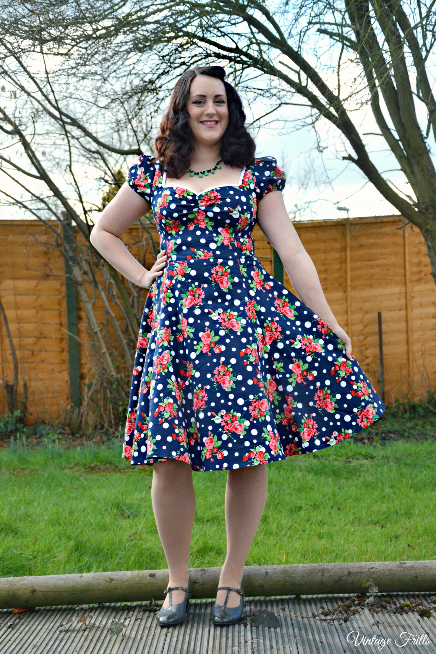 Collectif Mimi Dress OOTD