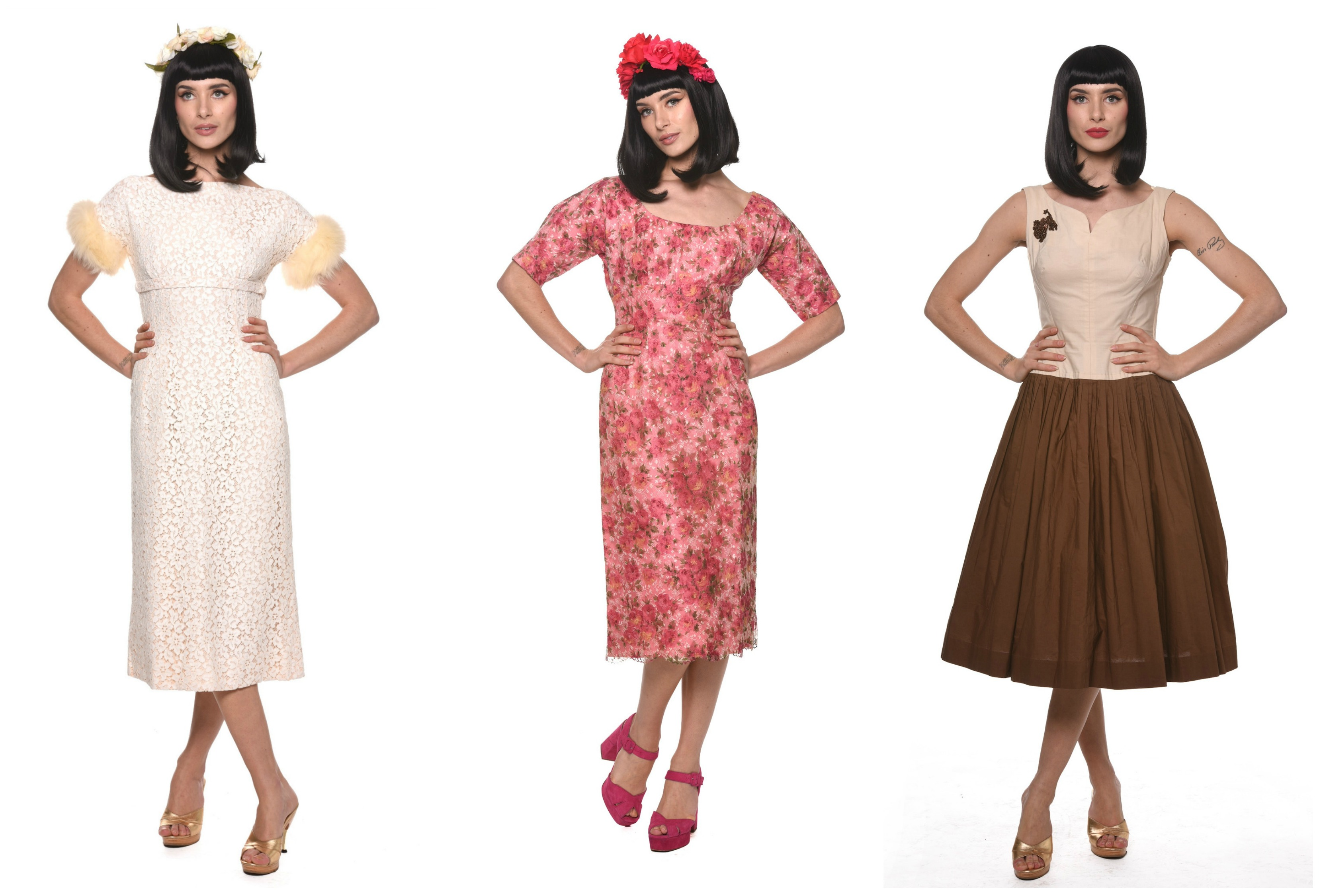 A Typical Girl 1950s Vintage Dresses