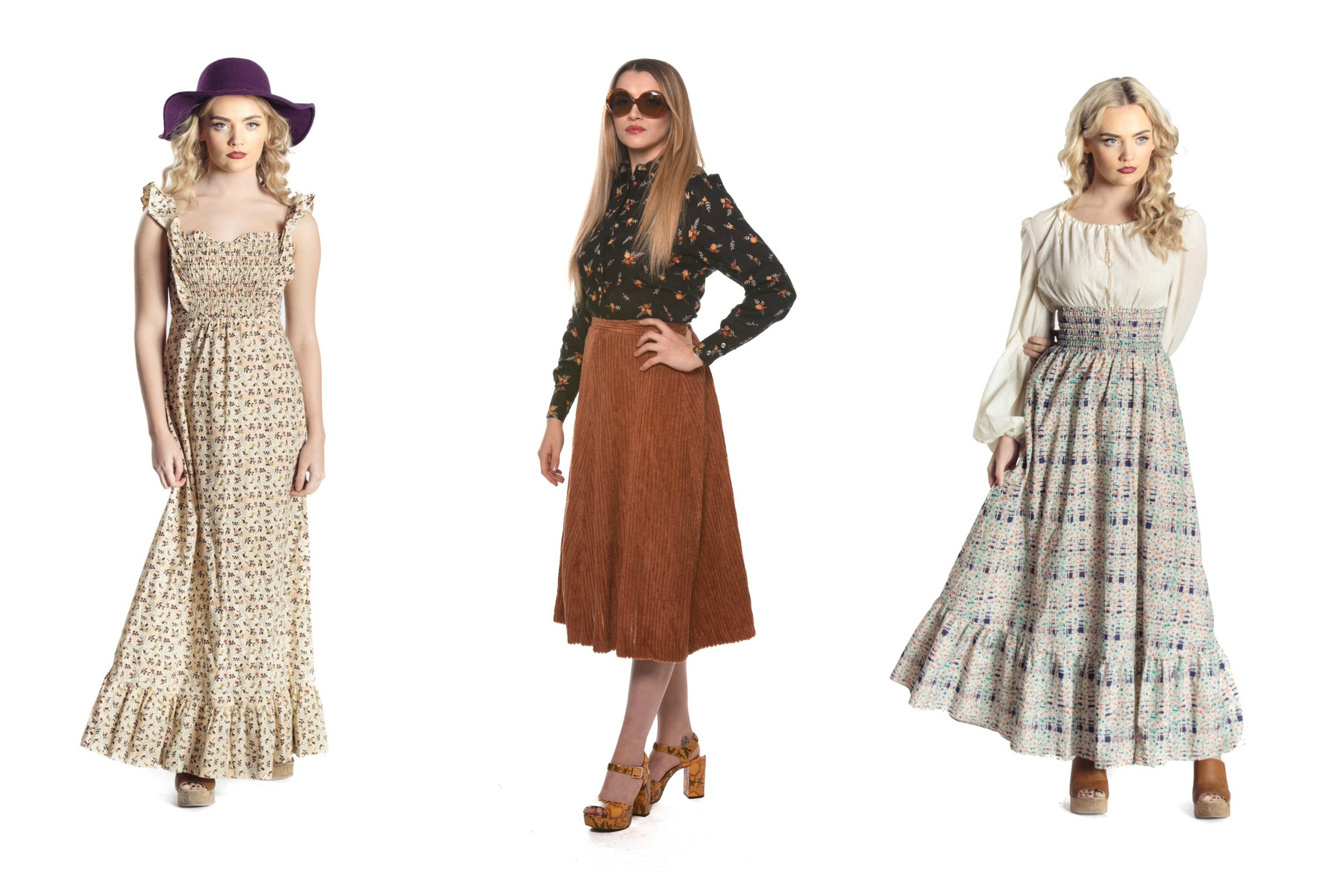 Atypical Girl 1970s Vintage Dresses