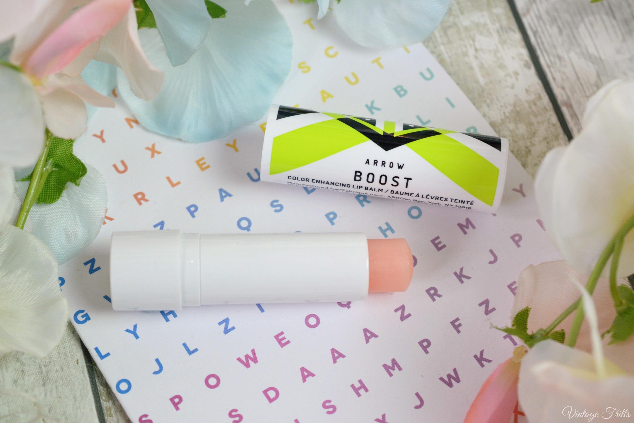 March Birchbox Arrow Boost Colour Enhancing Lip Balm