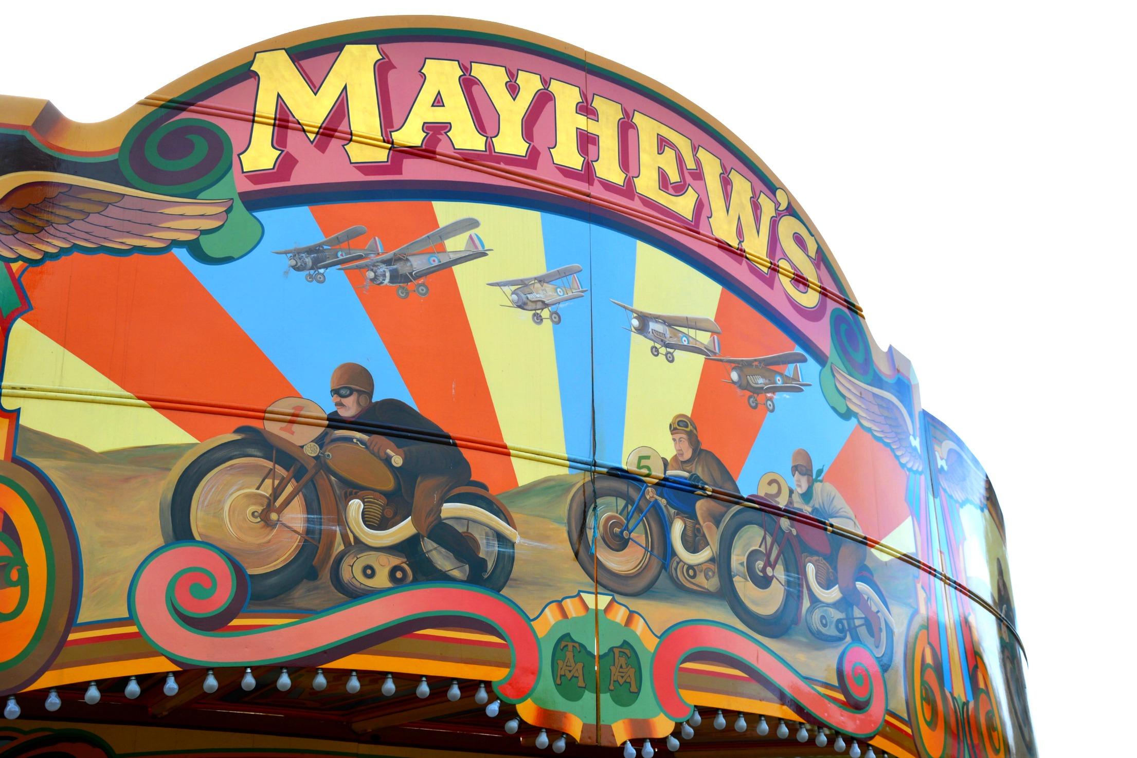 Mayhew's Speedway ride Dreamland