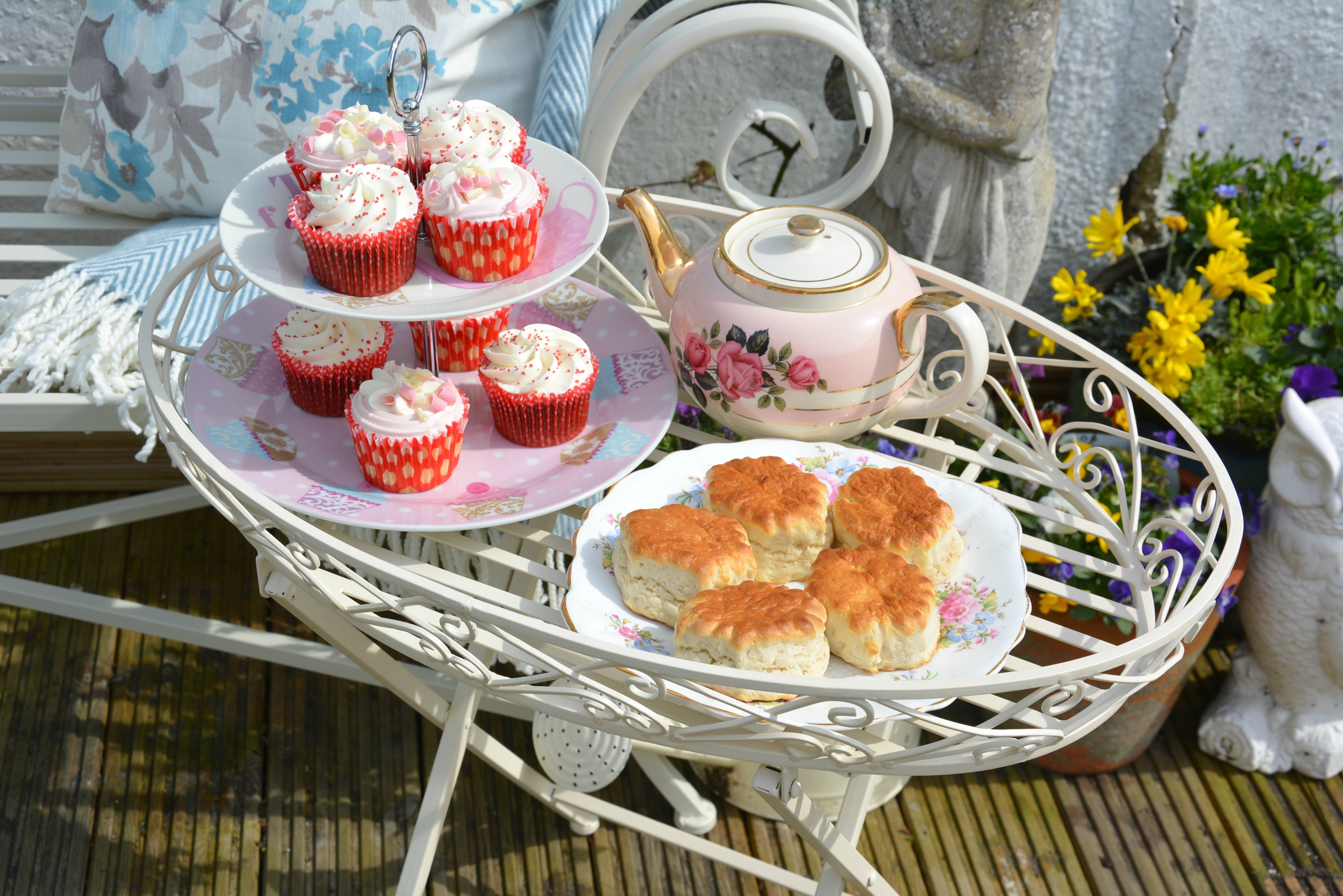 Vintage Afternoon Tea 4