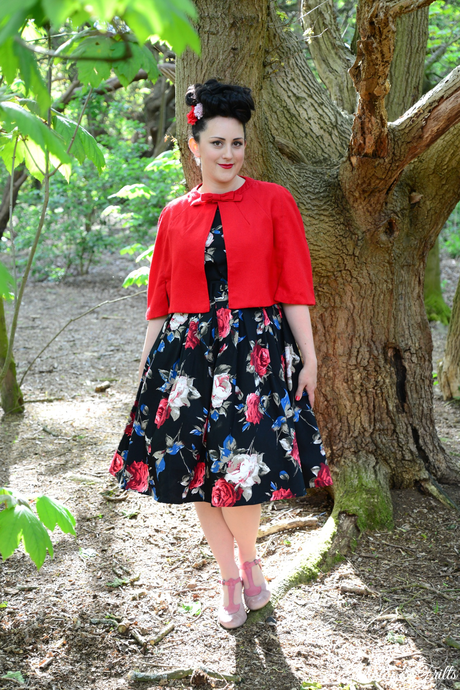 Dolly and Dotty Annie Floral Retro Swing Dress Review