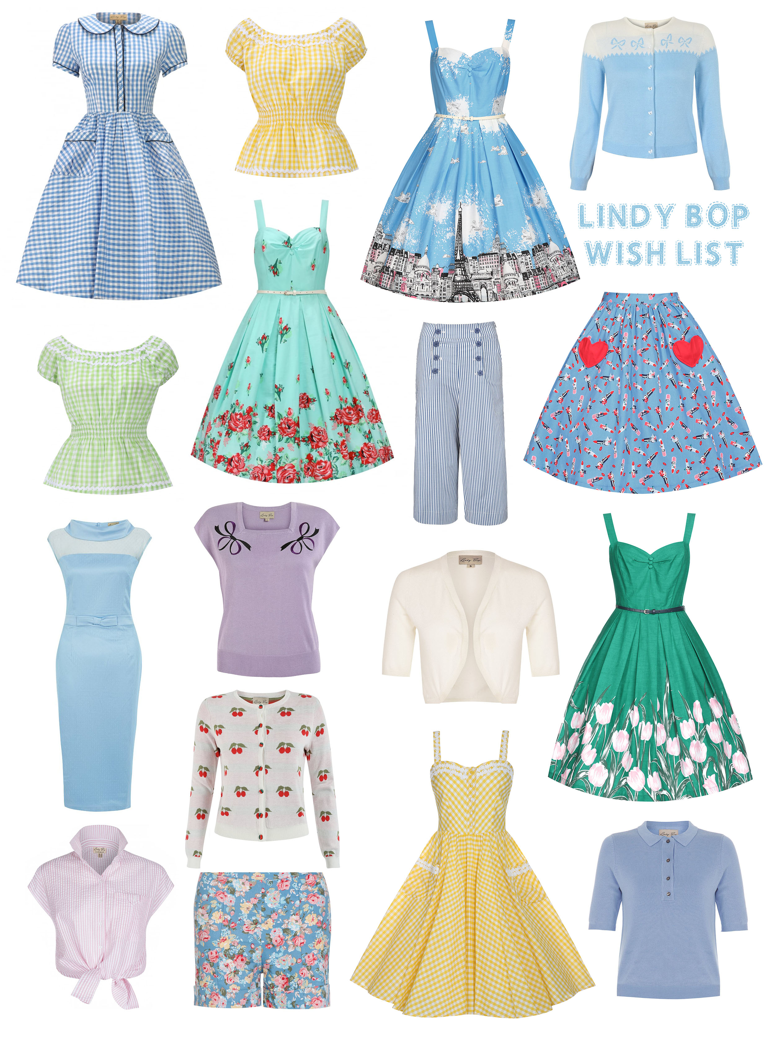 LINDY BOP WISHLIST