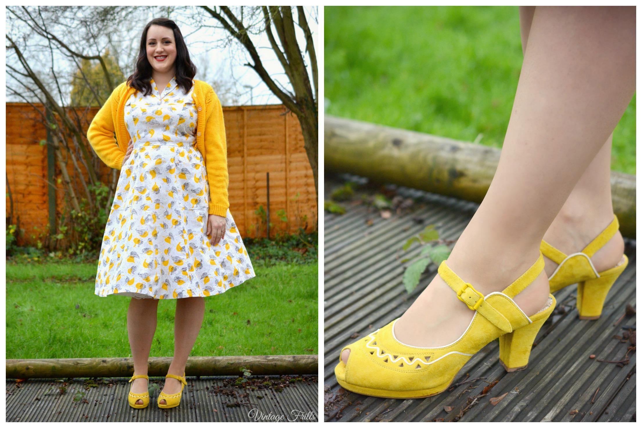 Miss L Fire Mustard Shoes
