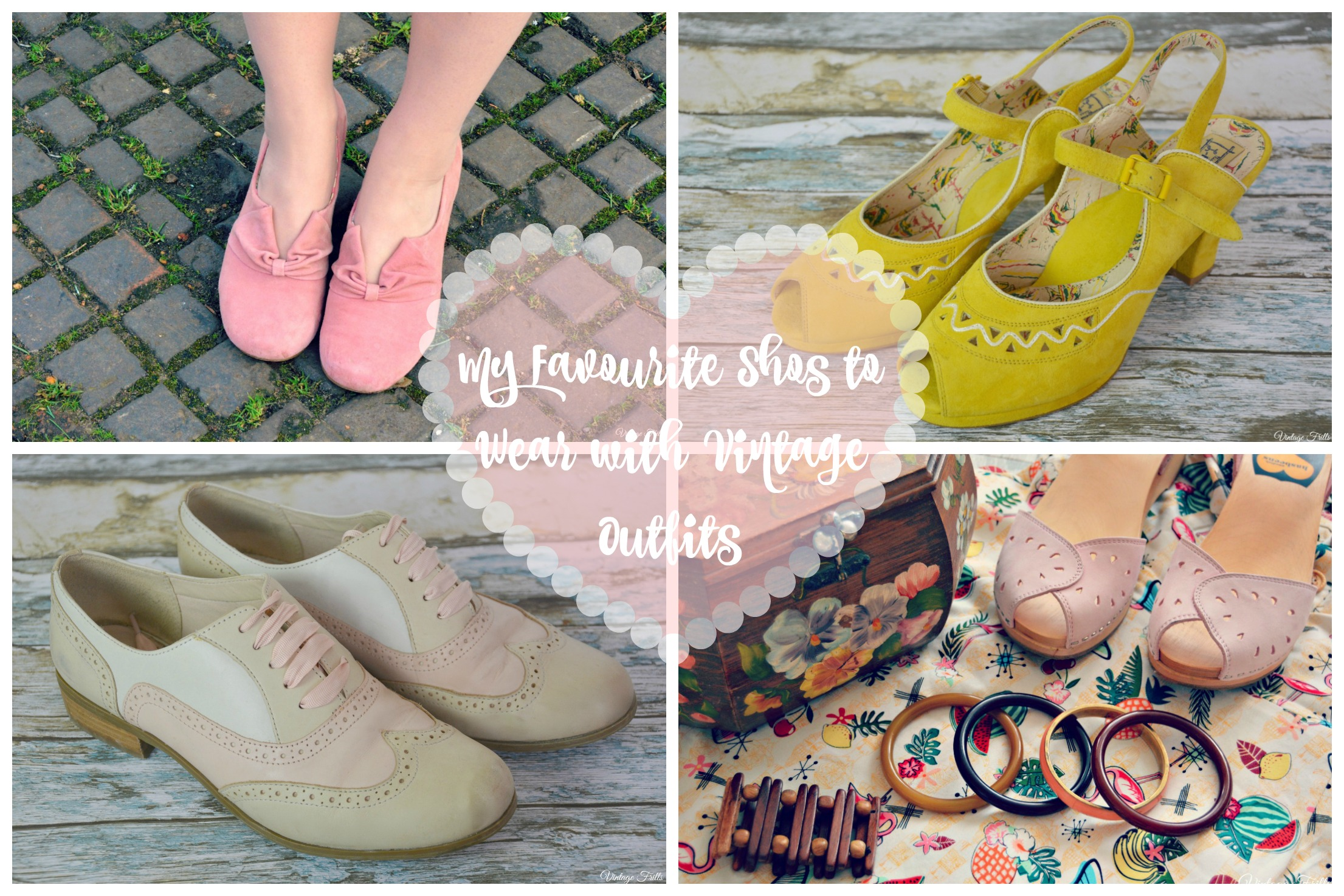 Shoes to Wear with Vintage Outfits