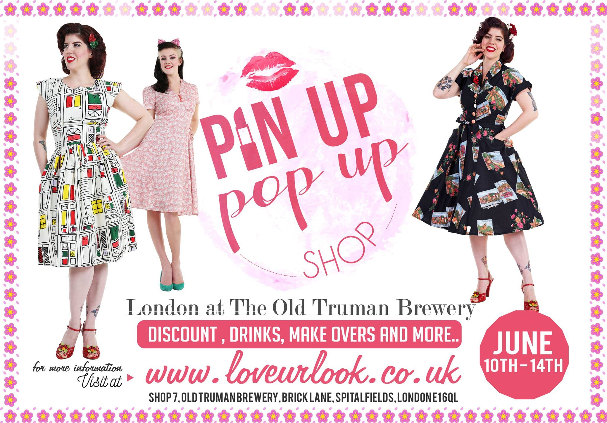 The Pin Up Pop Up Comes to London This Weekend