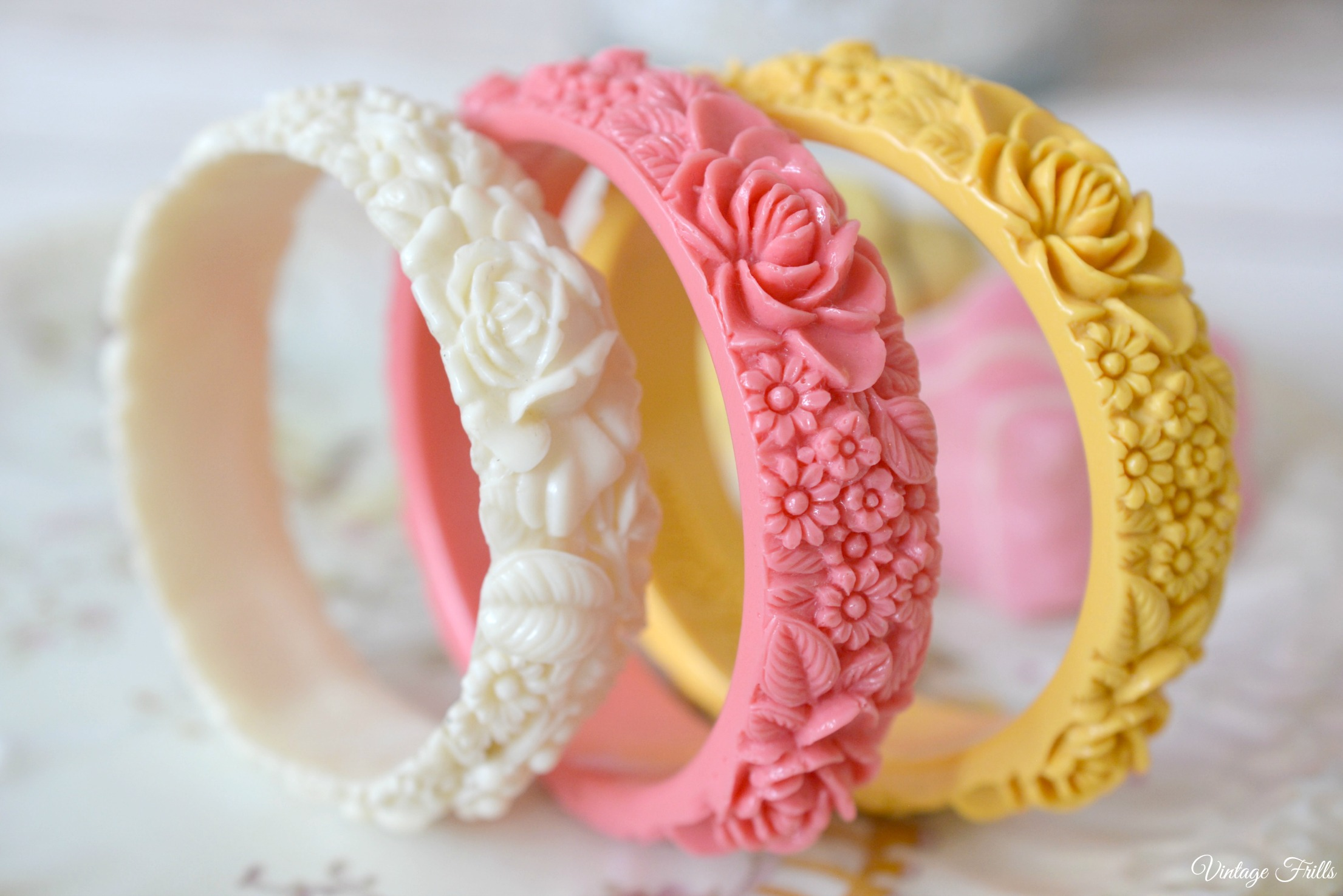 Cath Kidston Reproduction Celluloid Bangles