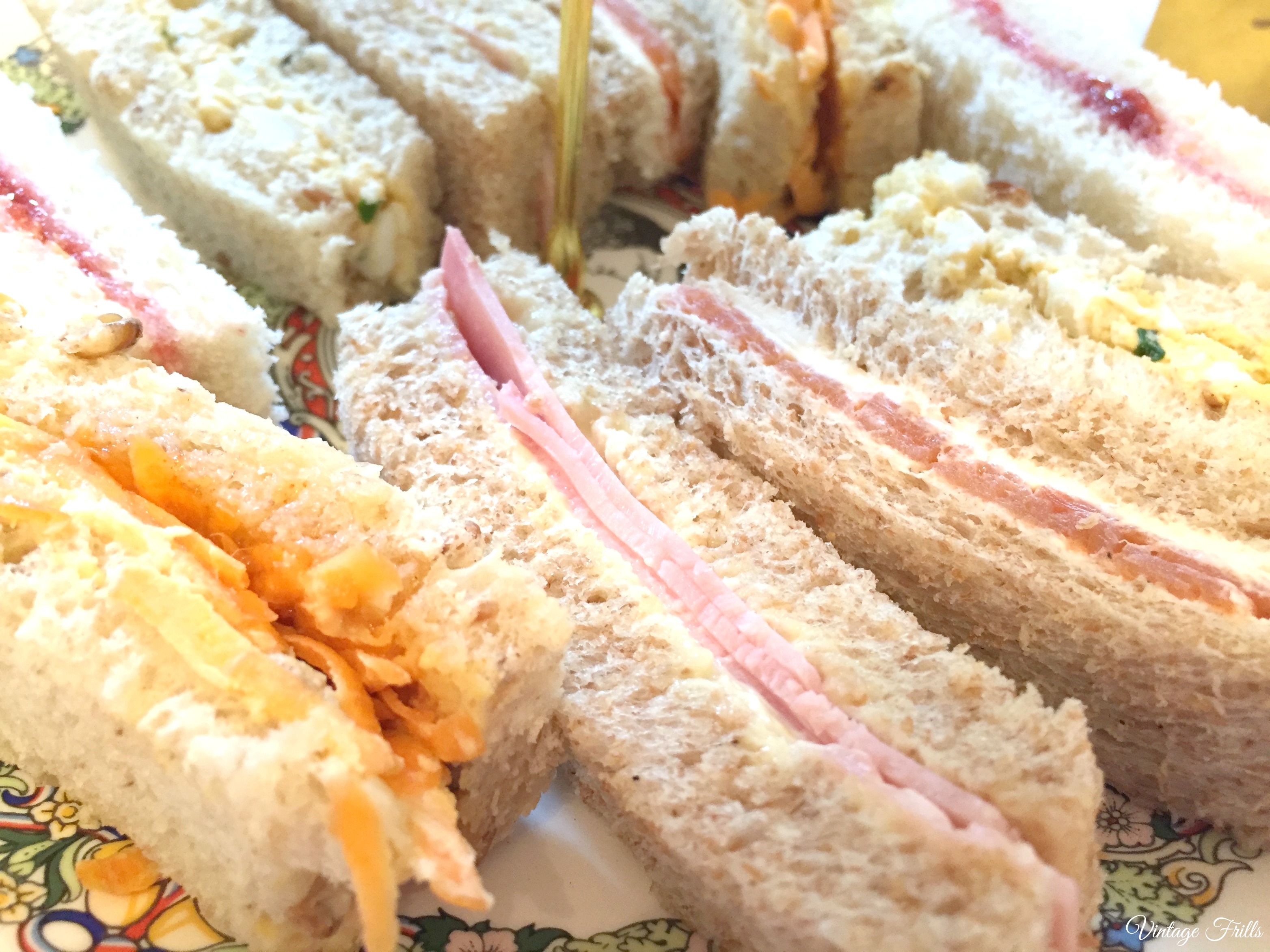 Little Nan's Sutton House Afternoon Tea Sandwiches