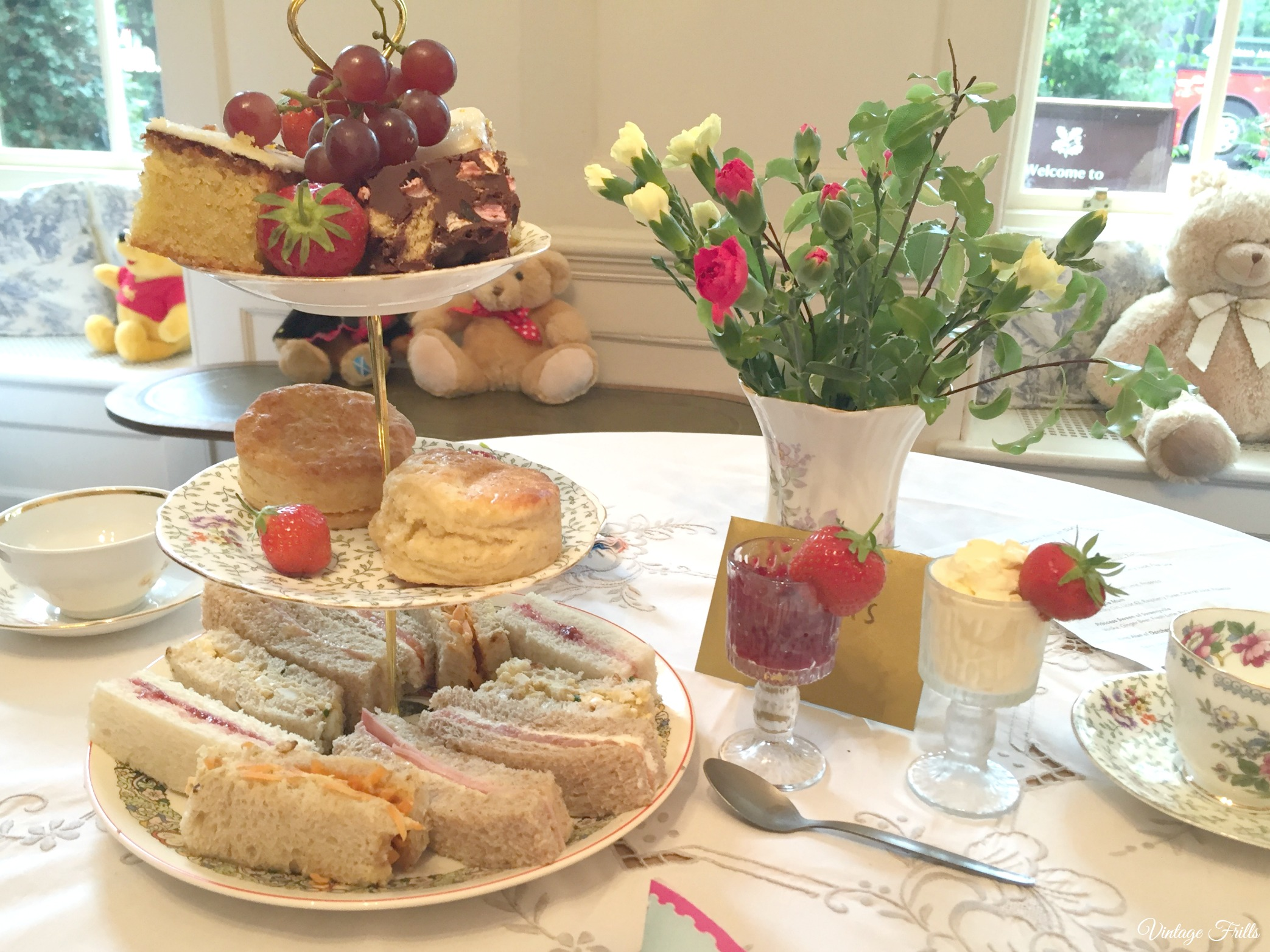 Little Nan's Sutton House Afternoon Tea
