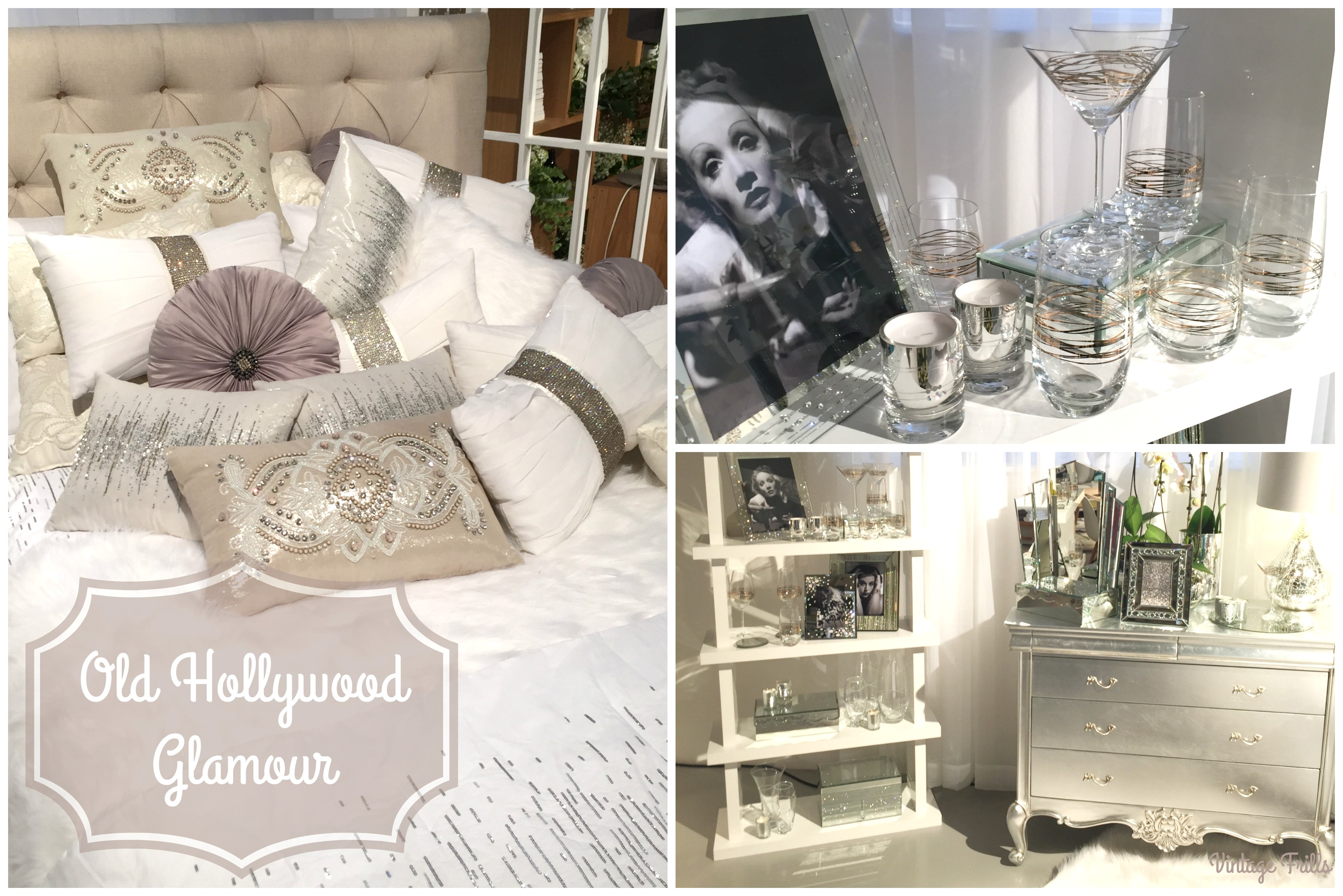 Home Inspiration – Old Hollywood Glamour