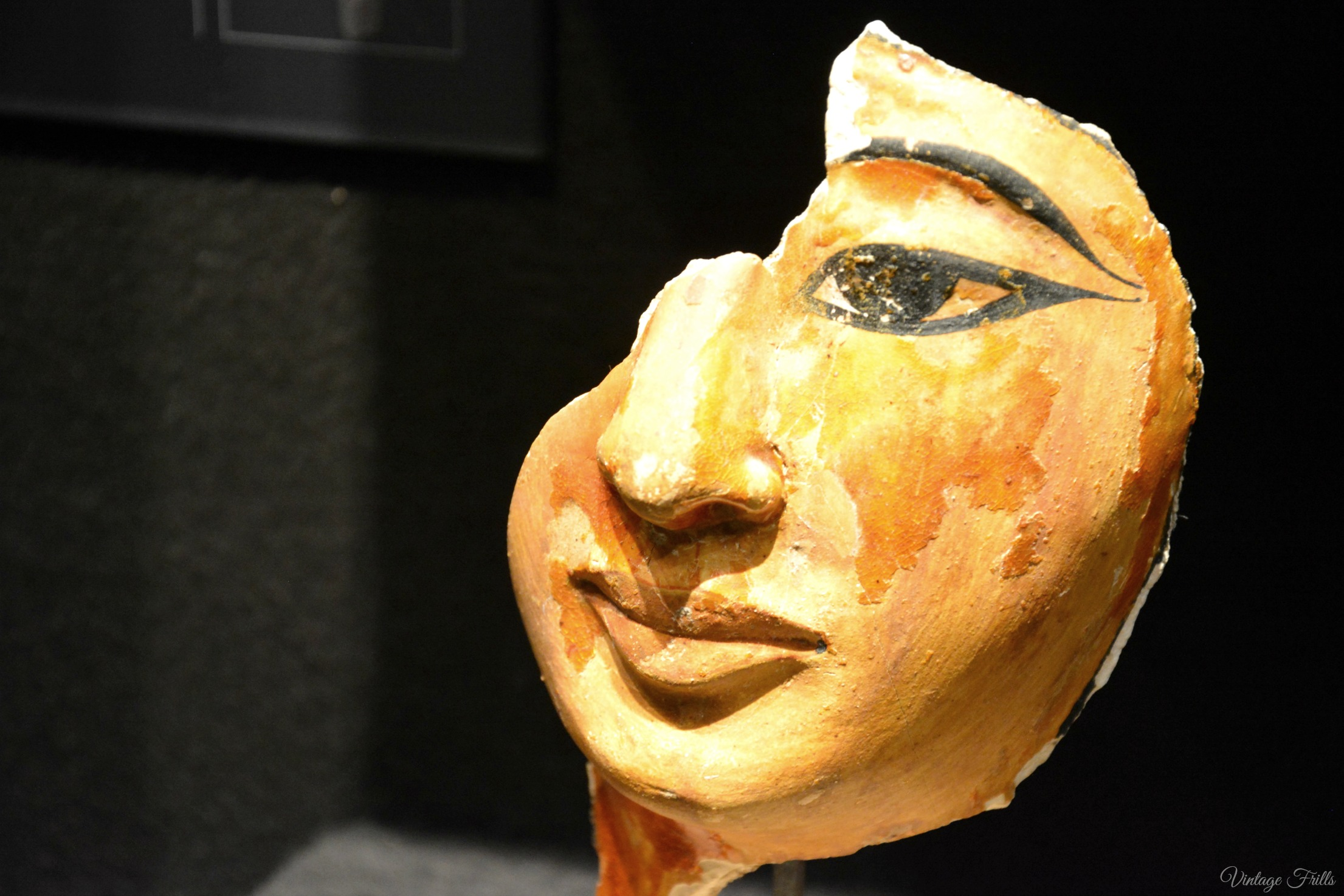 Olympia Art and Antiques Fair Ancient Egyptian Head