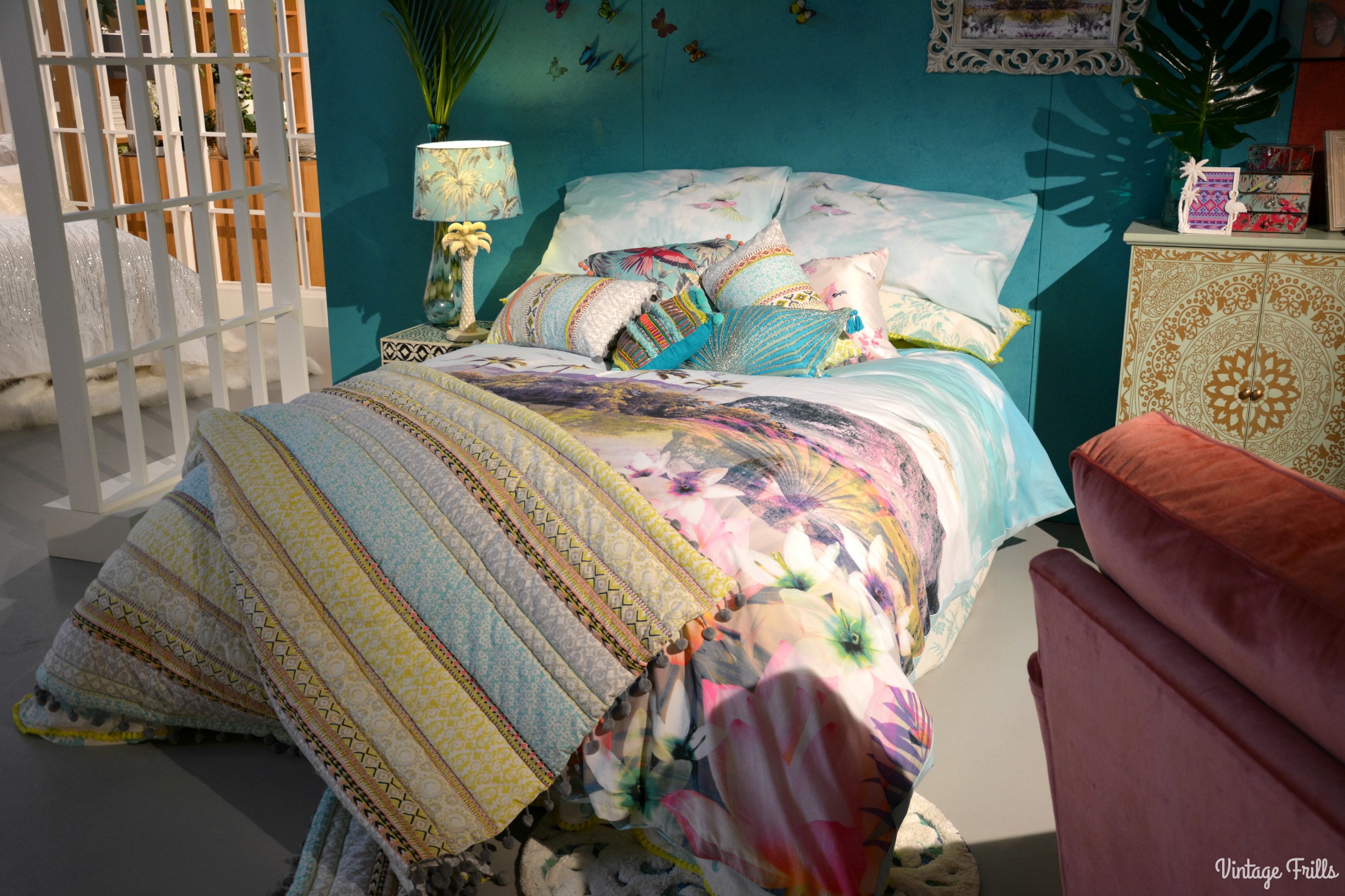 Exotic Tropical Bedroom Debenhams