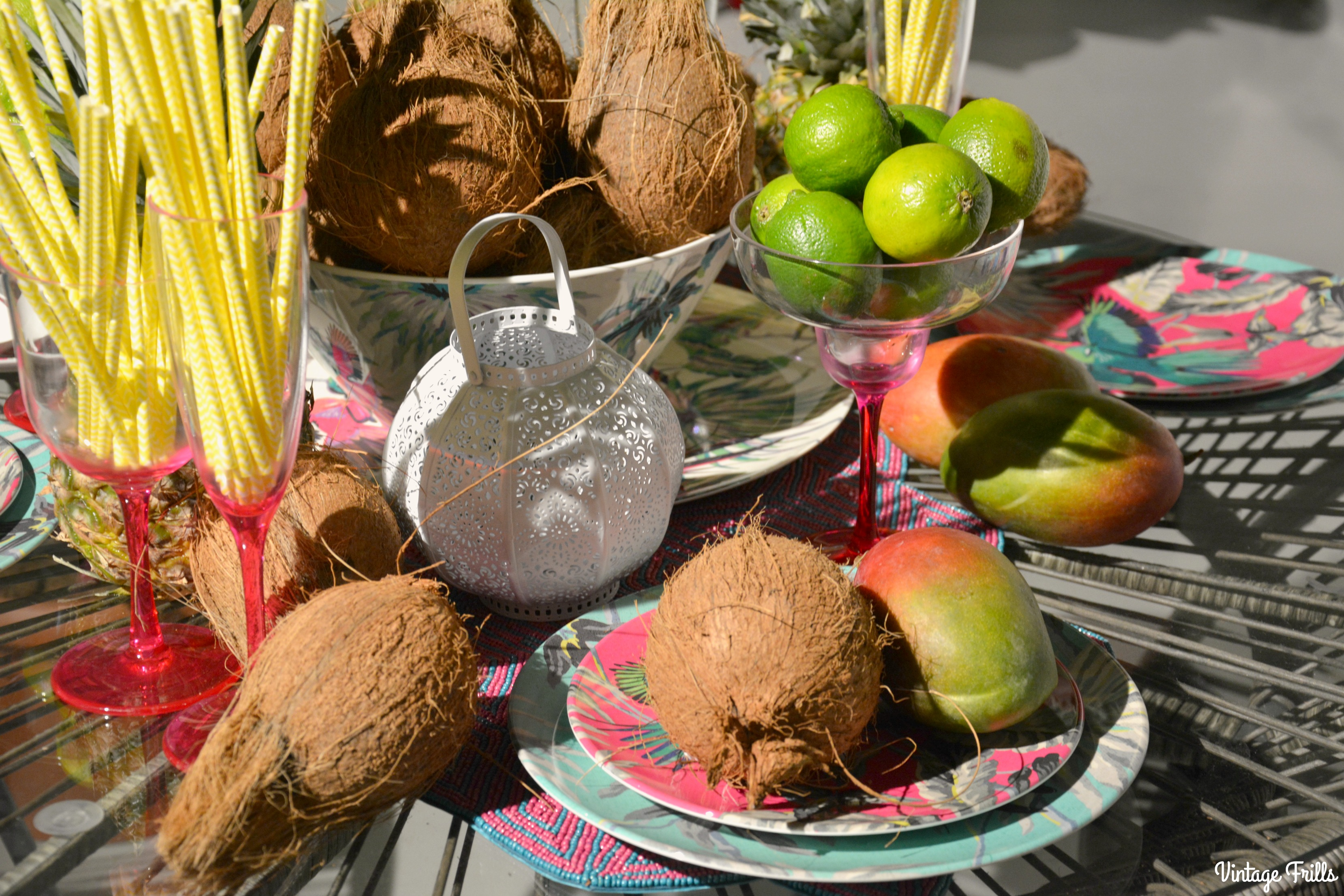 Exotic Tropical Garden Entertaining Debenhams