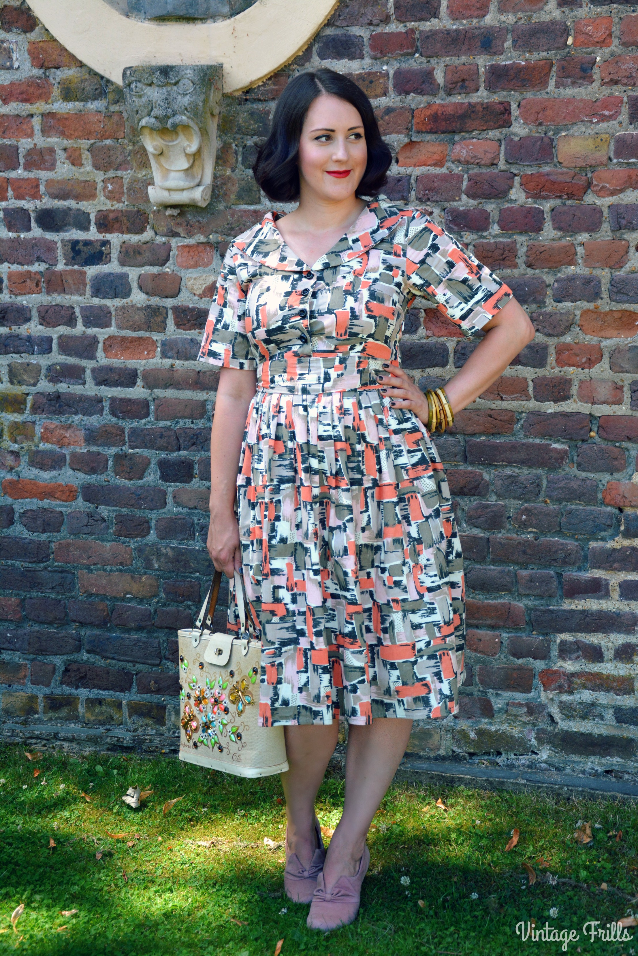 Love ur Look 1950s Check Shirt Dress