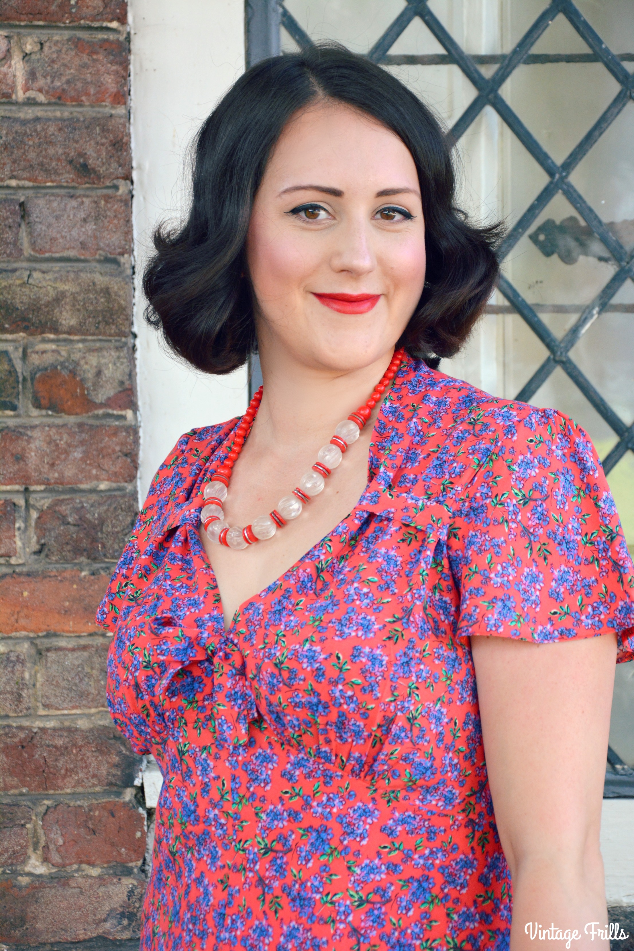 Pretty Retro Tea Dress Review