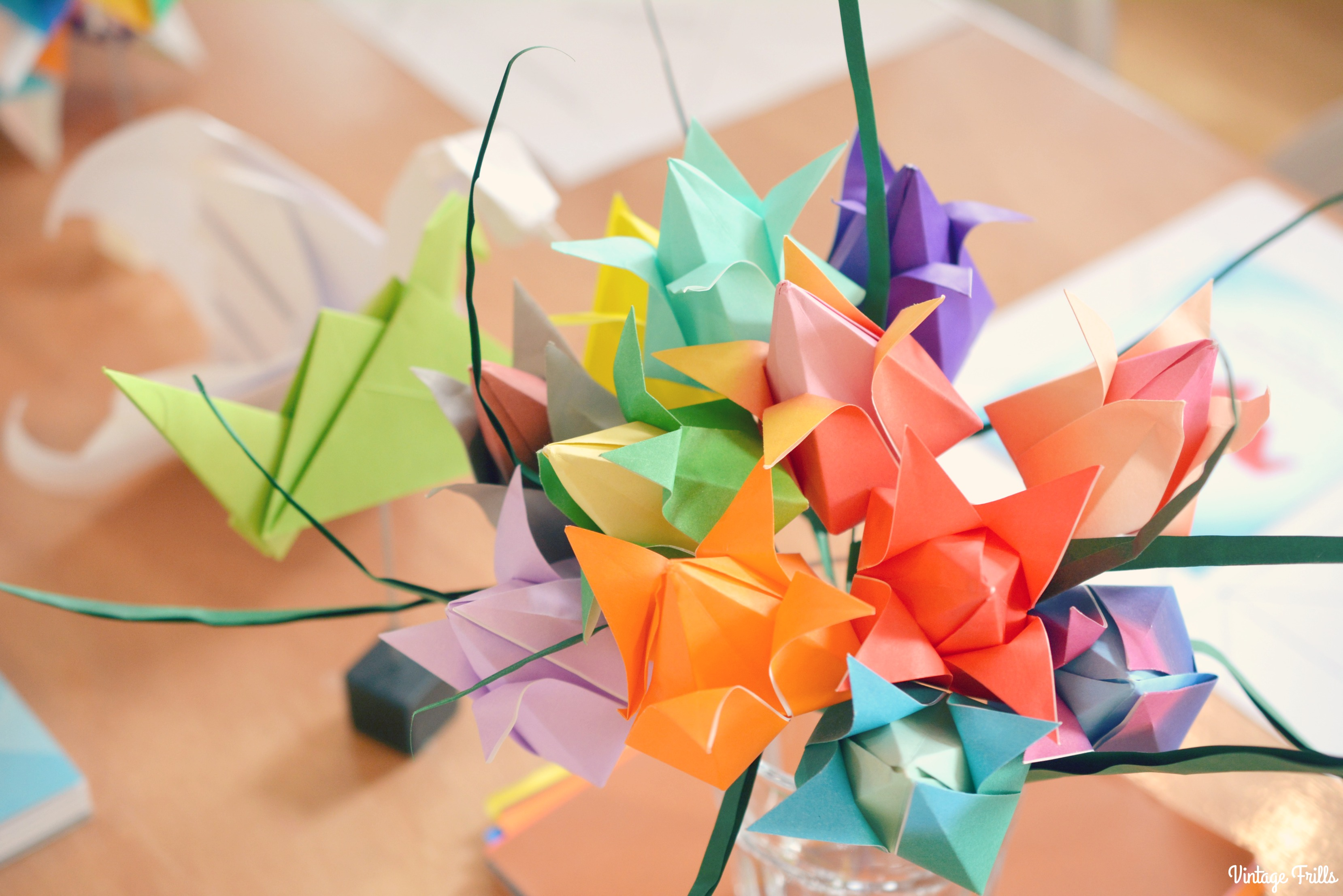 Viking Arty Party Mindful Origami Bouquet