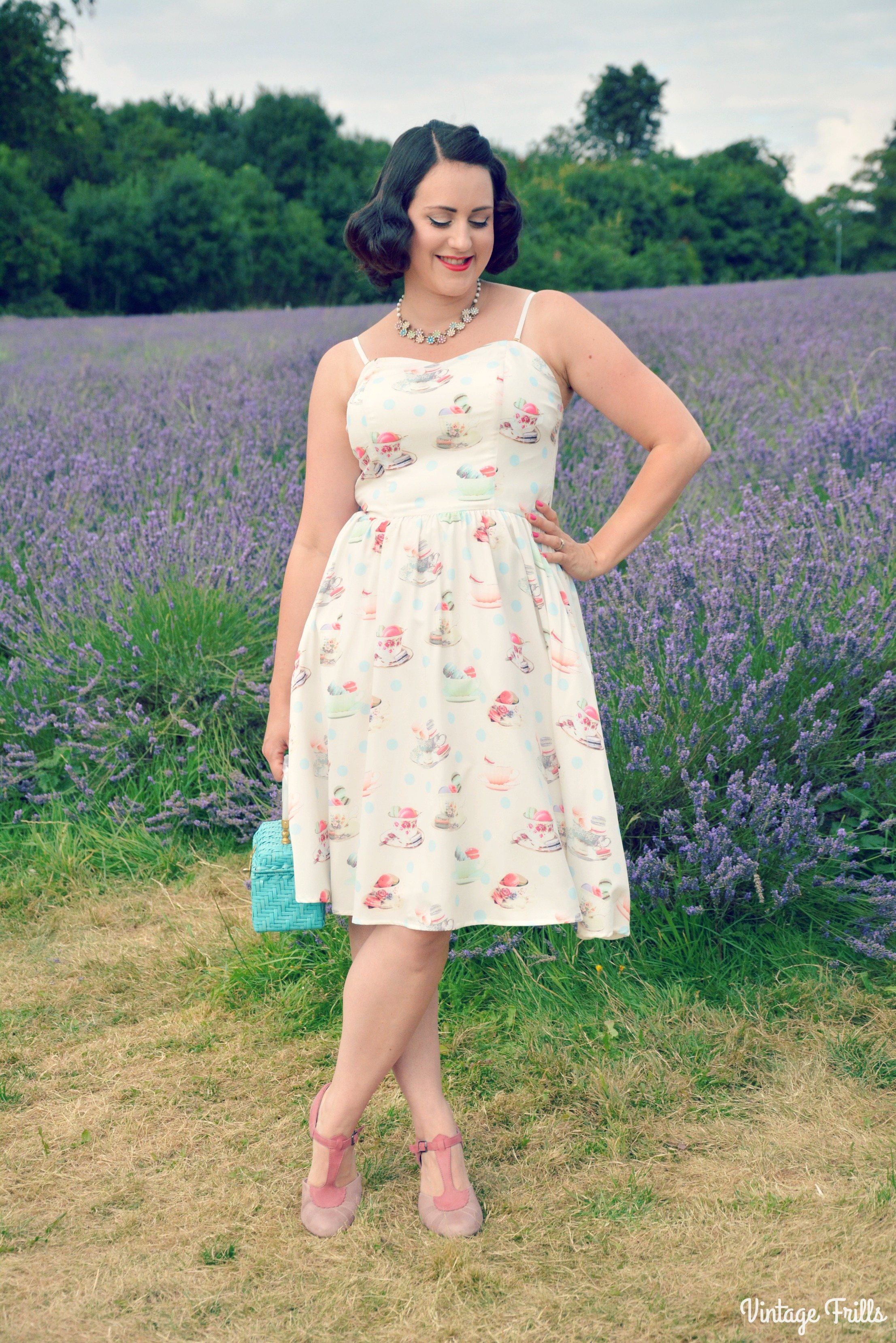 House of Fraser Yumi Tea and Macaroon Dress Review