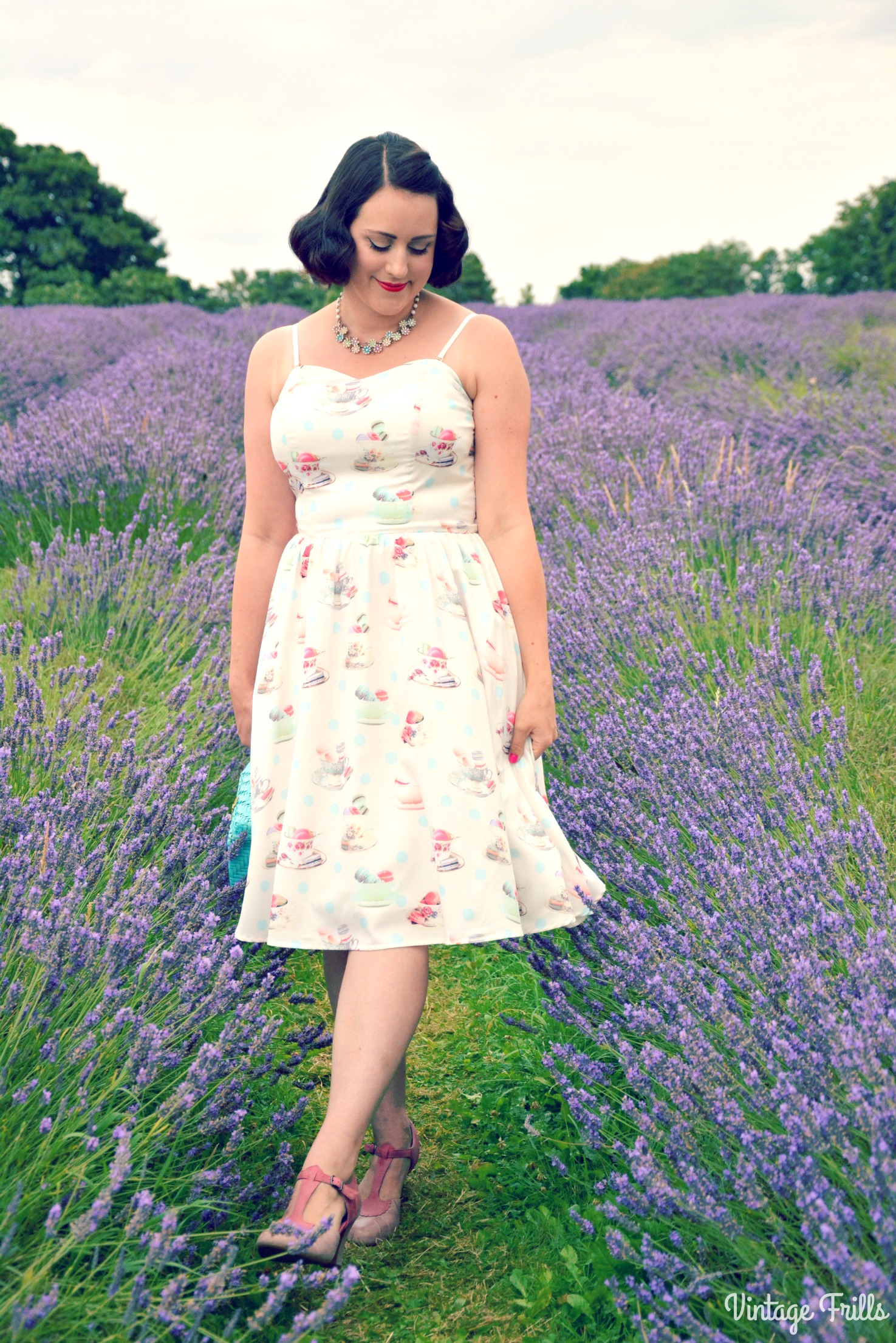 House of Fraser Yumi Tea and Macarons Dress