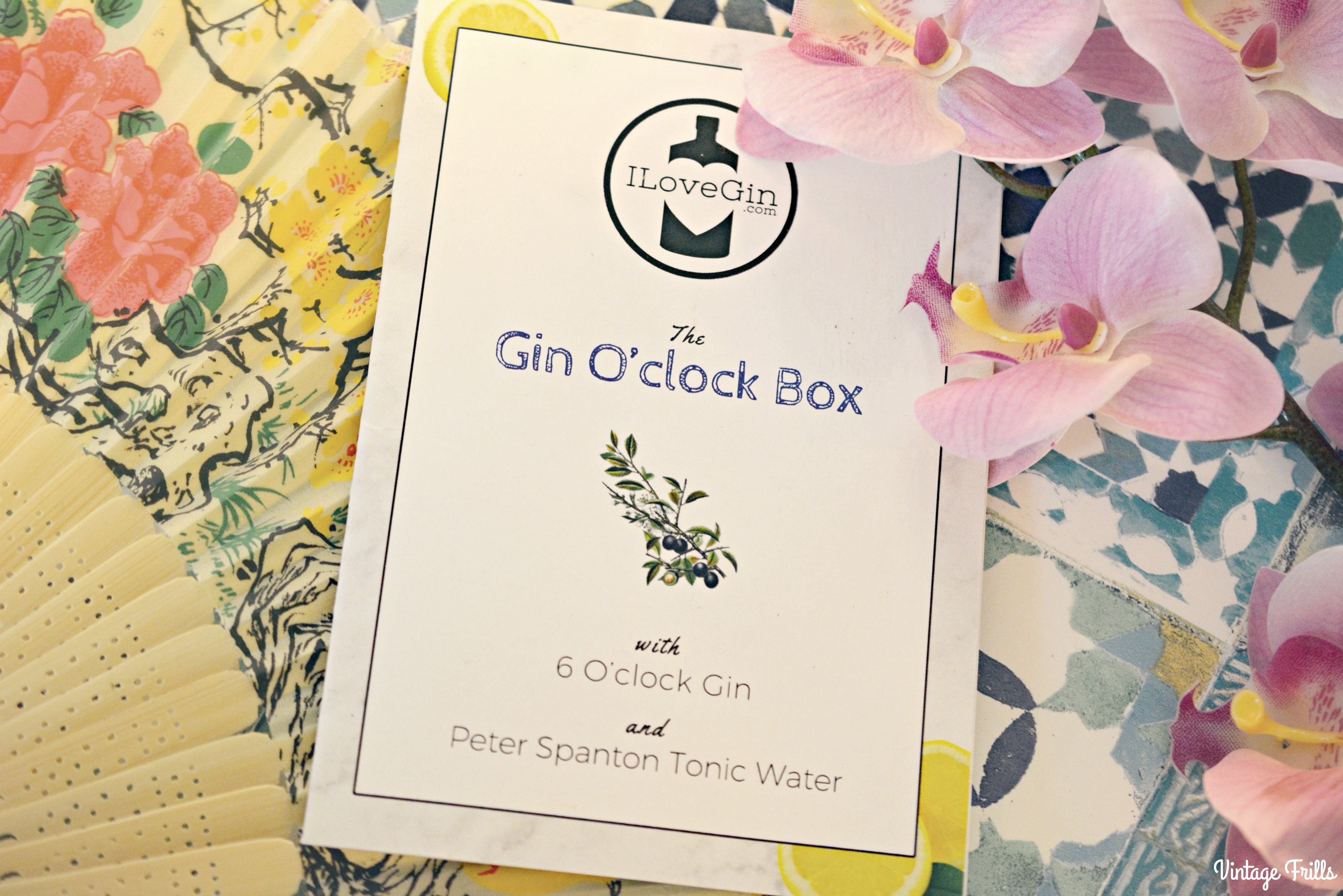 I Love Gin - Gin O'Clock Box Review