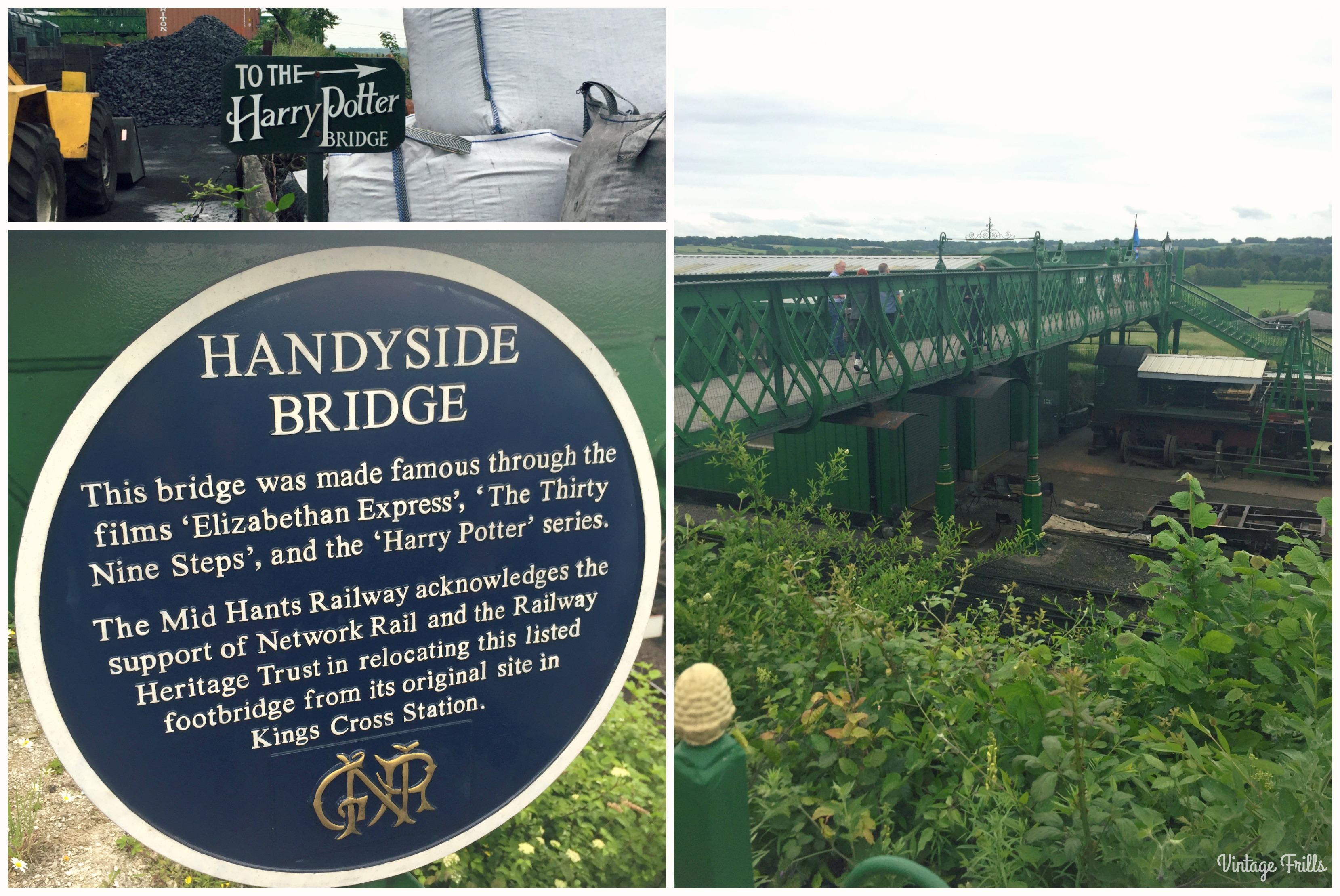 War on the line Harry Potter Bridge
