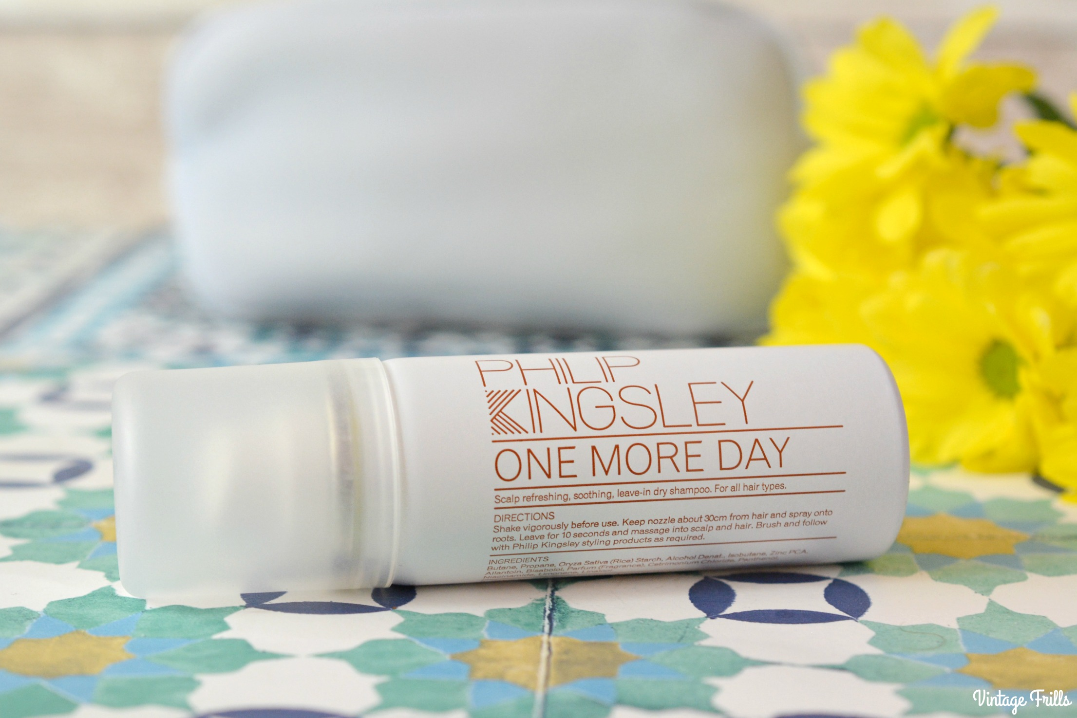 August Birchbox Philip Kingsley Dry Shampoo