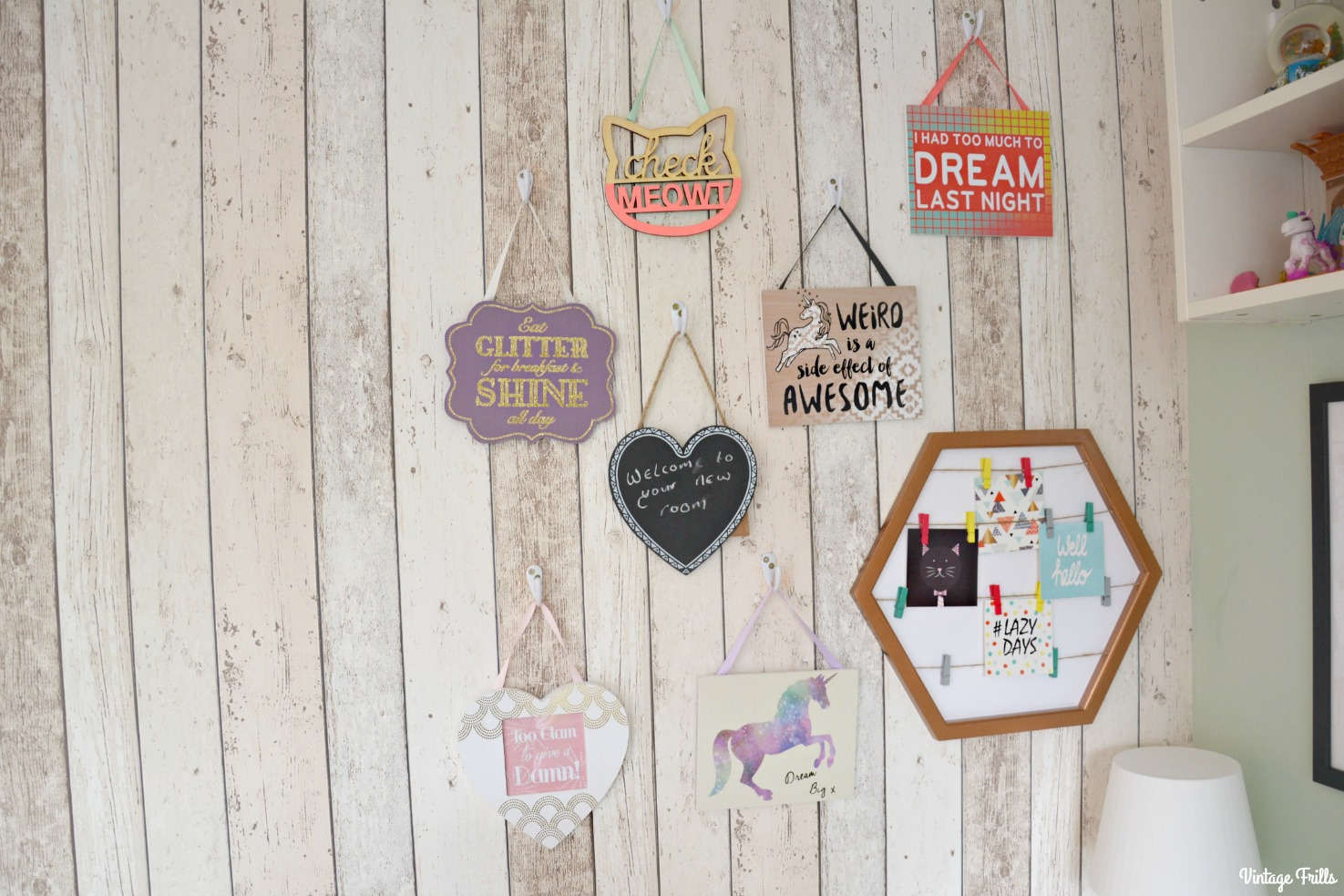jesss-room-primark-wall-plaques