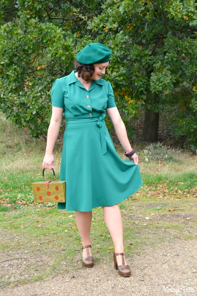 Essay 1940 S Fashion: The Perfect 1940s Style Dress From Pretty Retro OOTD