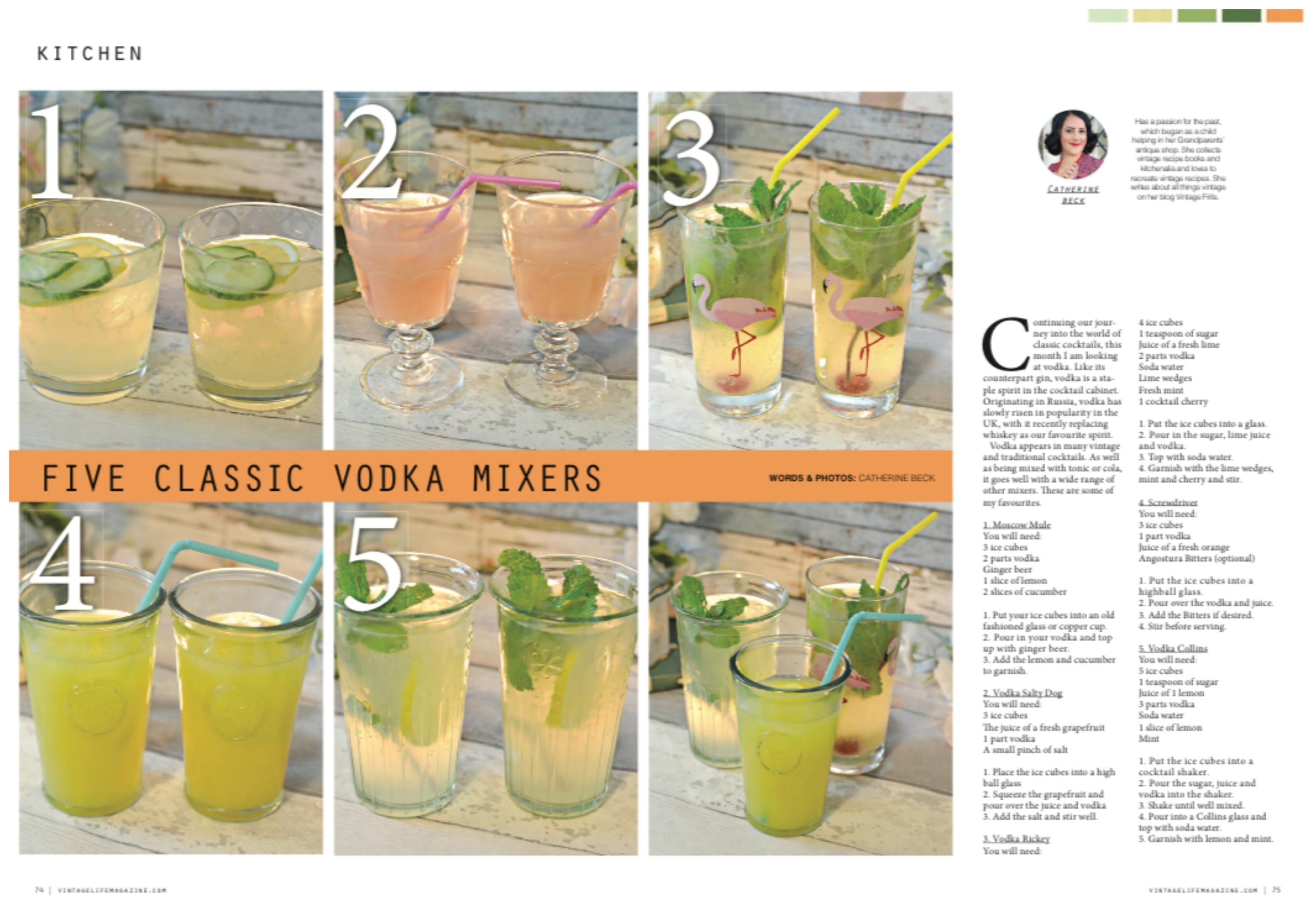 Vodka Mixers