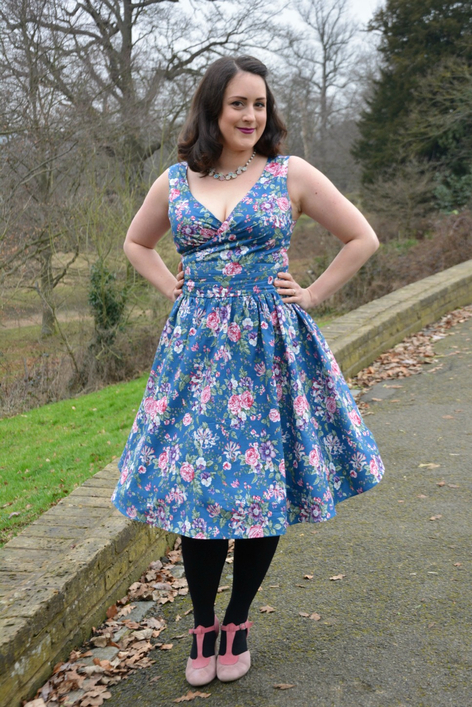 Happy in Florals with Dolly and Dotty