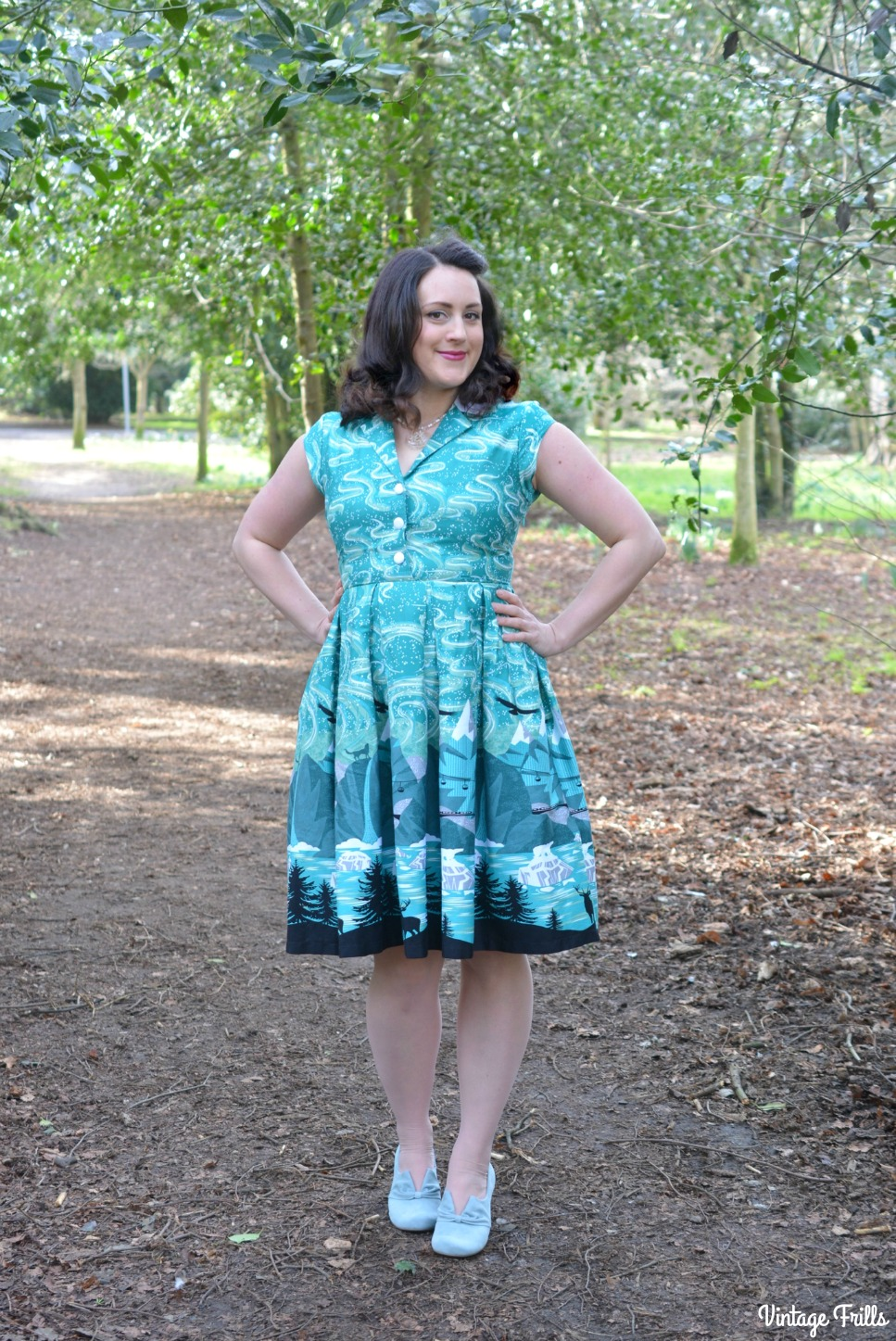 Lindy Bop Gilda Shirt Dress Review