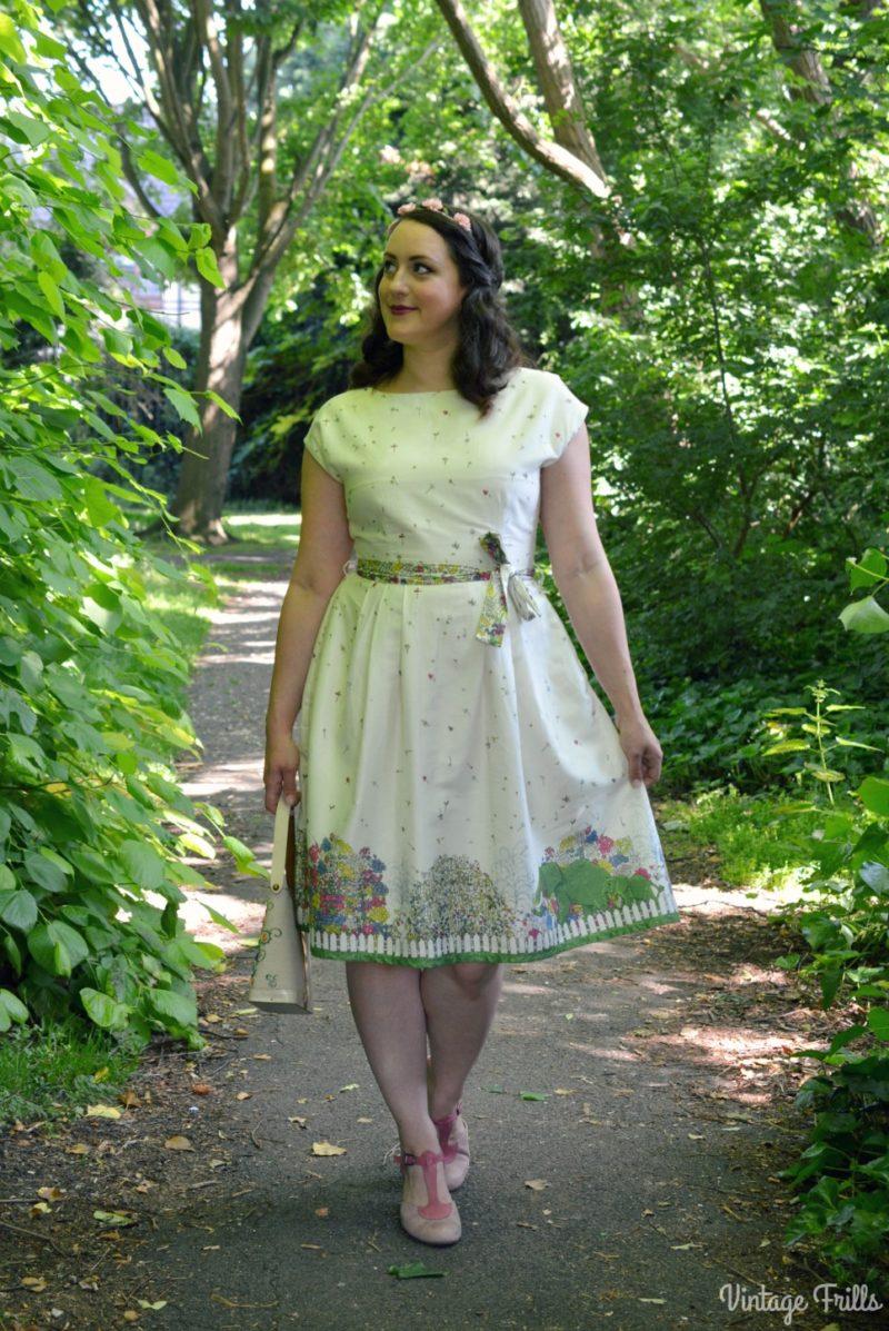 A Dress that Tells a Story - Palava Chelsea Flower Show Dress