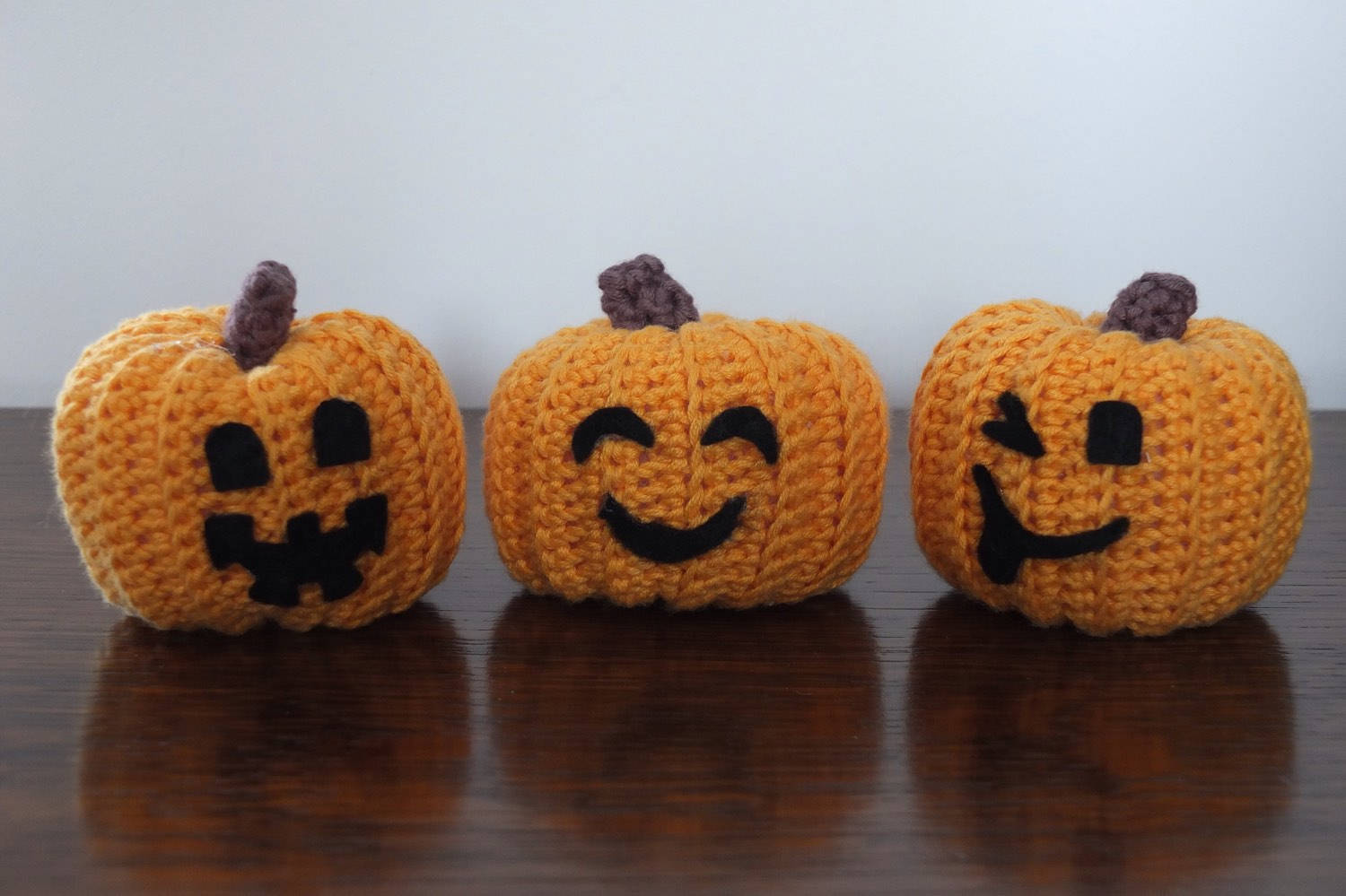 Etsy Halloween Decorations Crochet Pumpkins