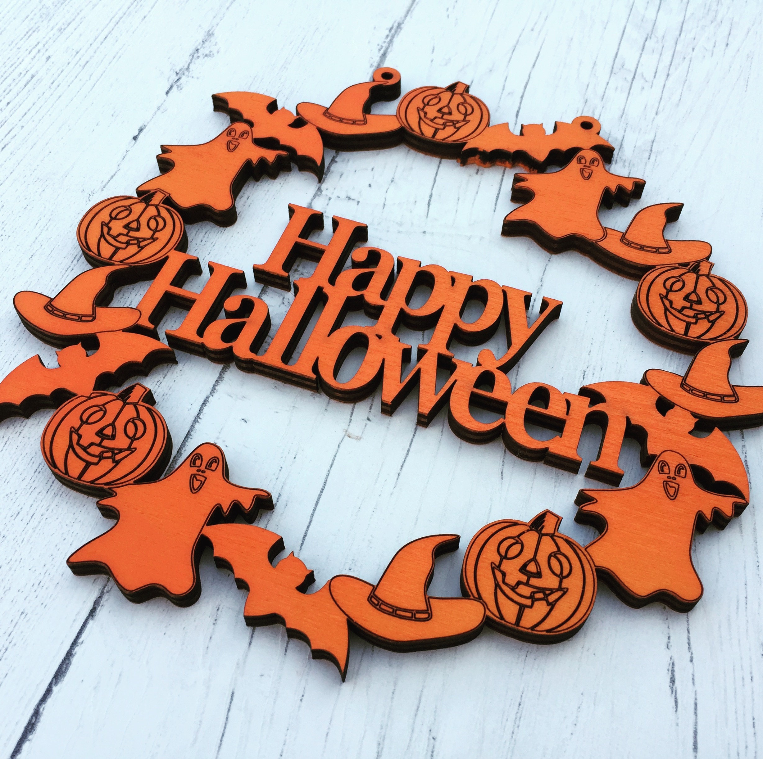 Etsy Halloween Decorations Wreath