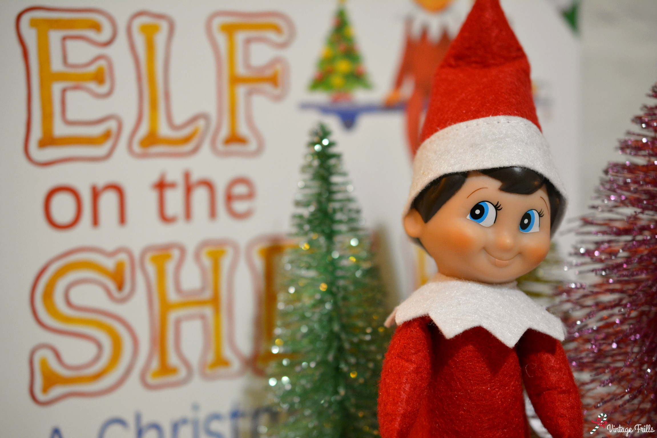 Introducing Our Elf on the Shelf Gavin! #Blogmas
